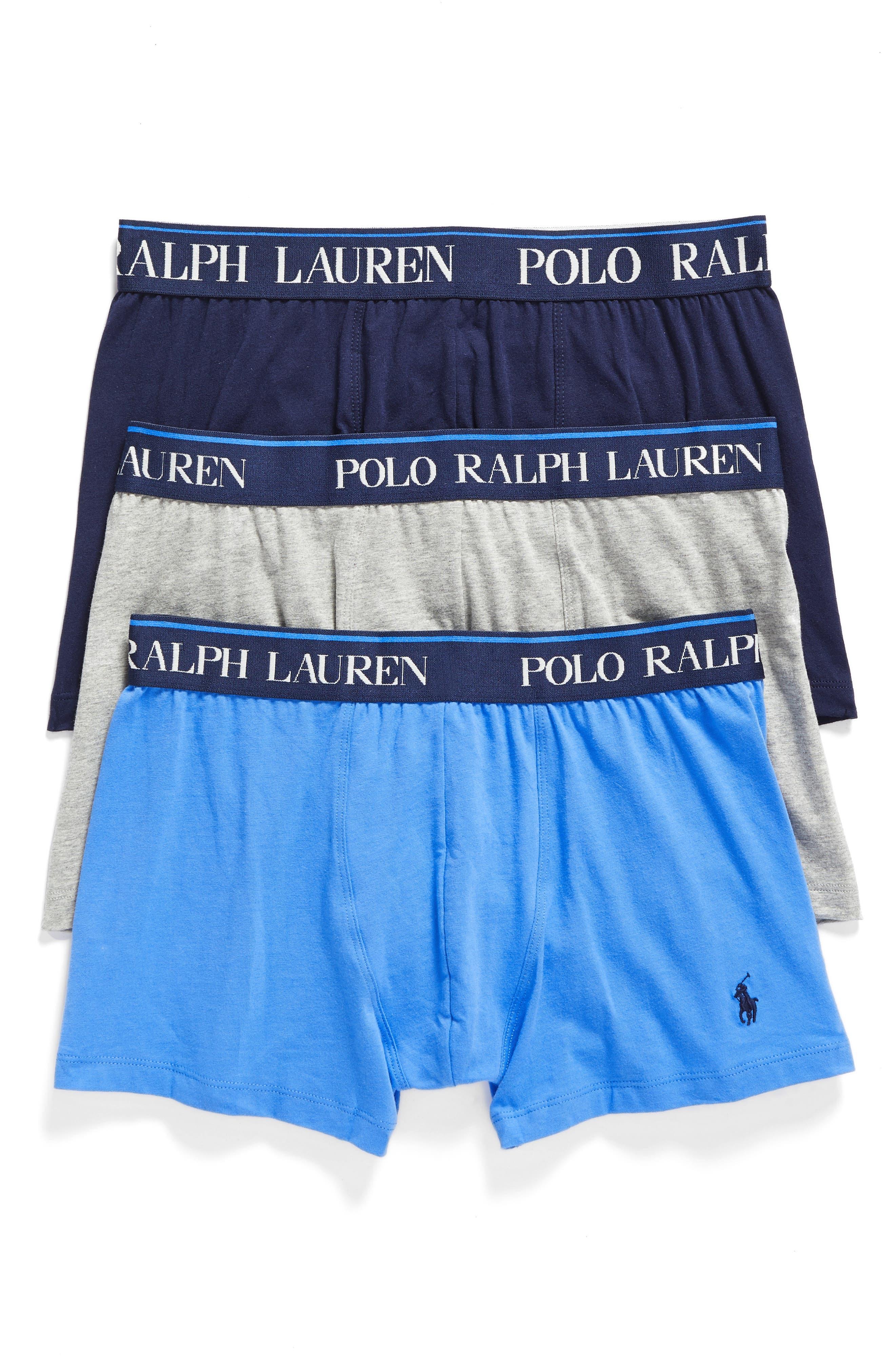 Main Image - Polo Ralph Lauren 3-Pack Stretch Cotton Boxer Briefs