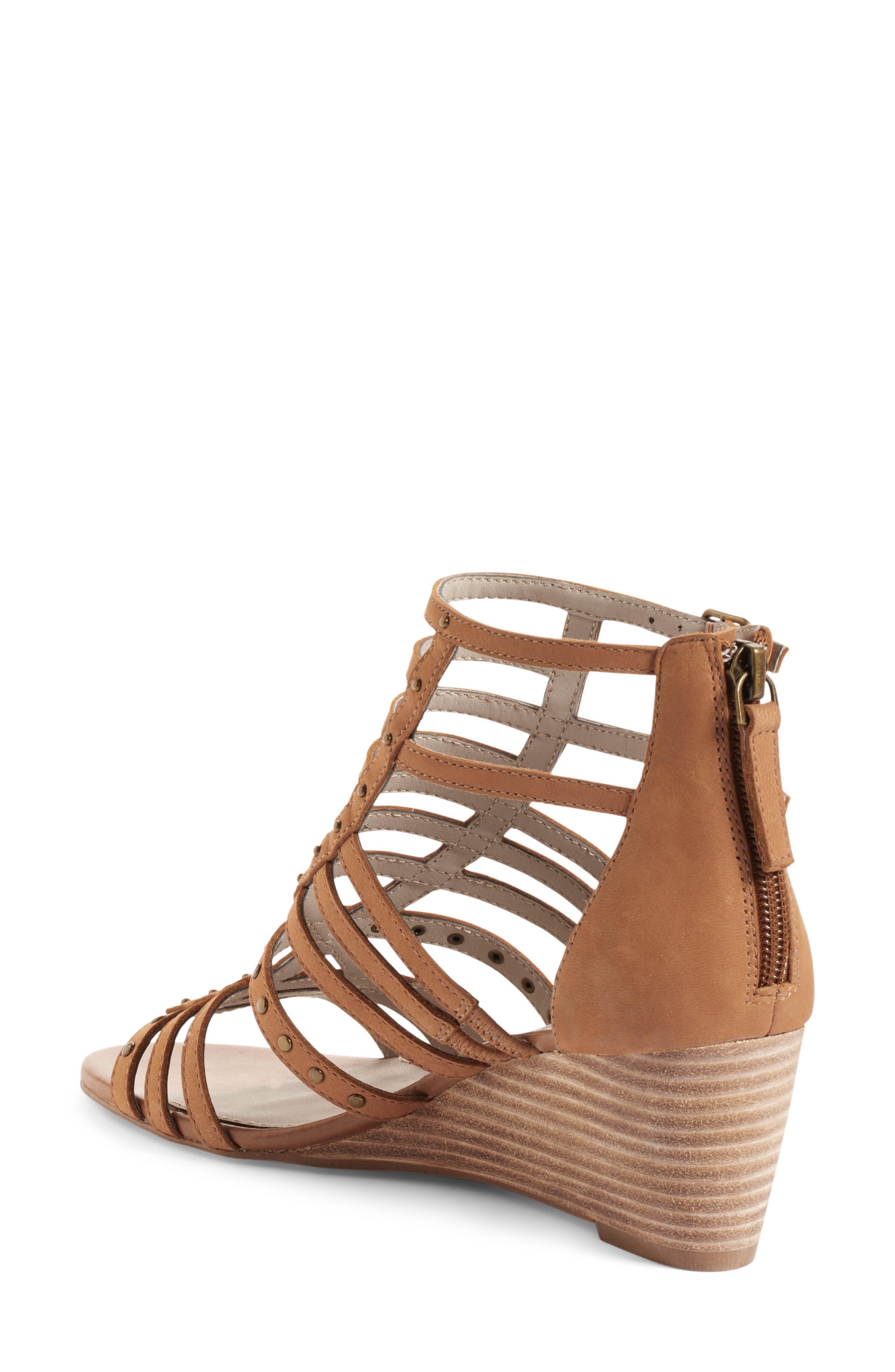 Alternate Image 2  - Hinge Nolan Strappy Wedge Sandal (Women)
