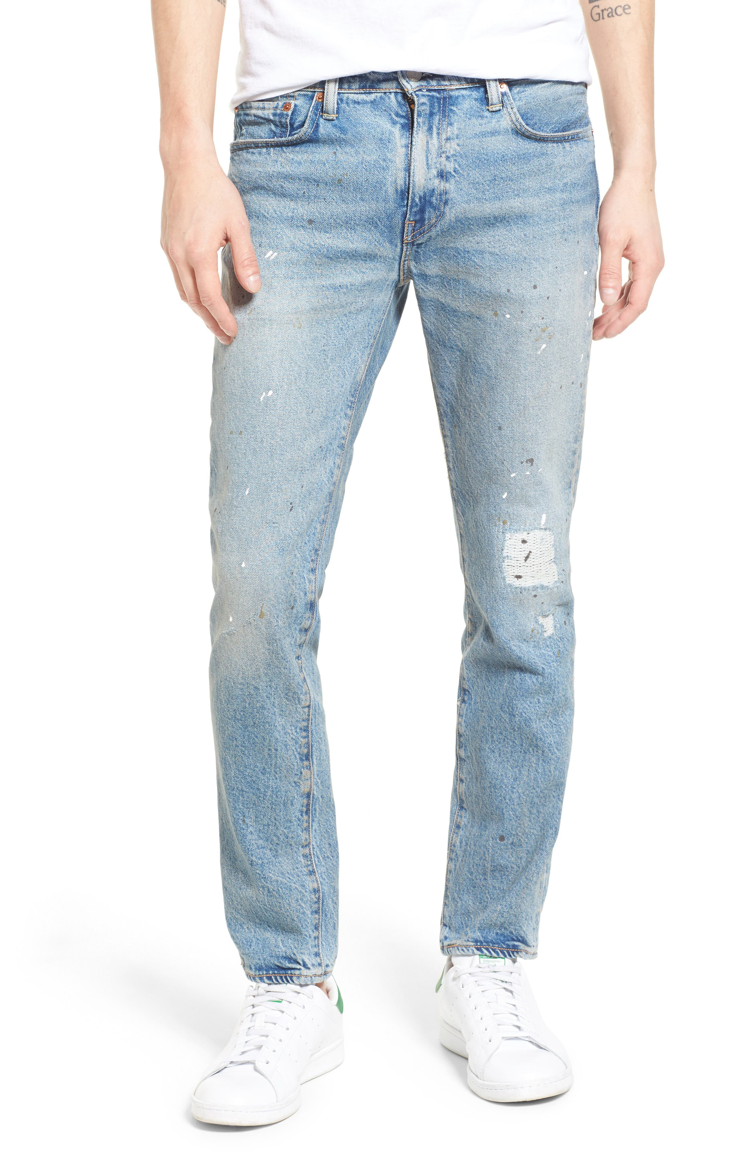 Alternate Image 1 Selected - Levi's® 511™ Slim Fit Jeans (Michigan DX)