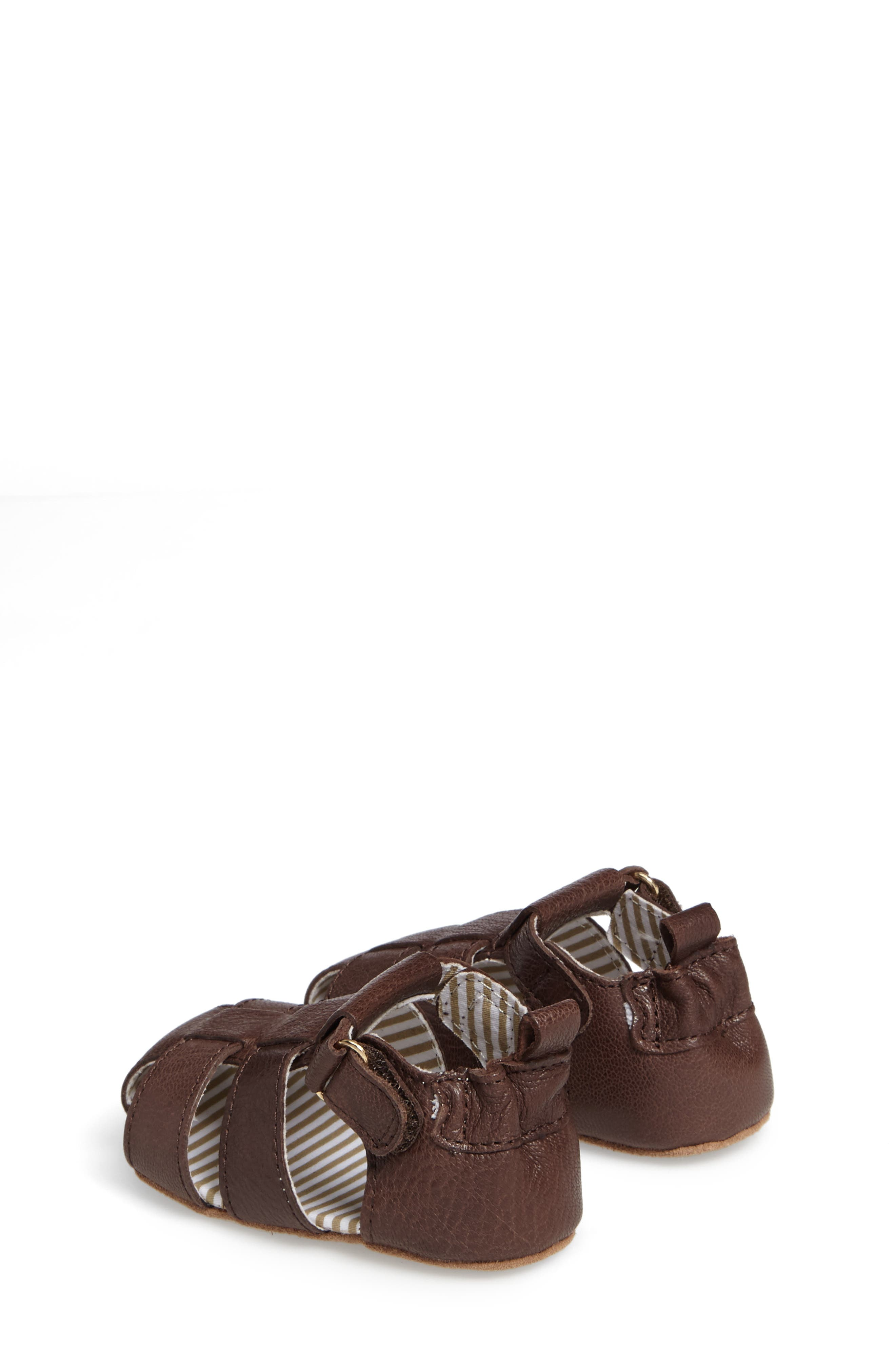 Alternate Image 2  - Robeez® Samuel Fisherman Sandal (Baby & Walker)