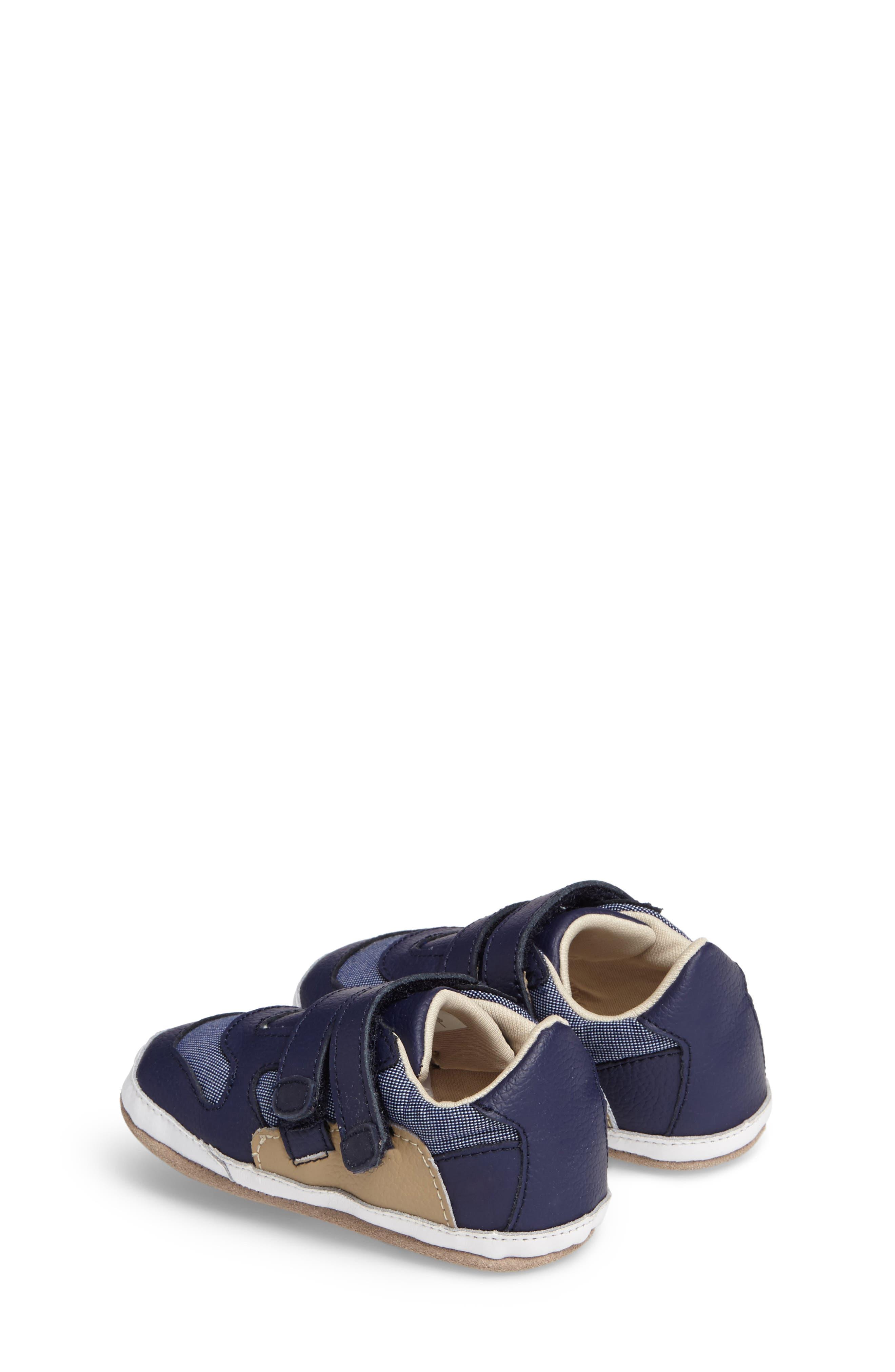 Alternate Image 2  - Robeez® Jaime Crib Shoe (Baby & Walker)