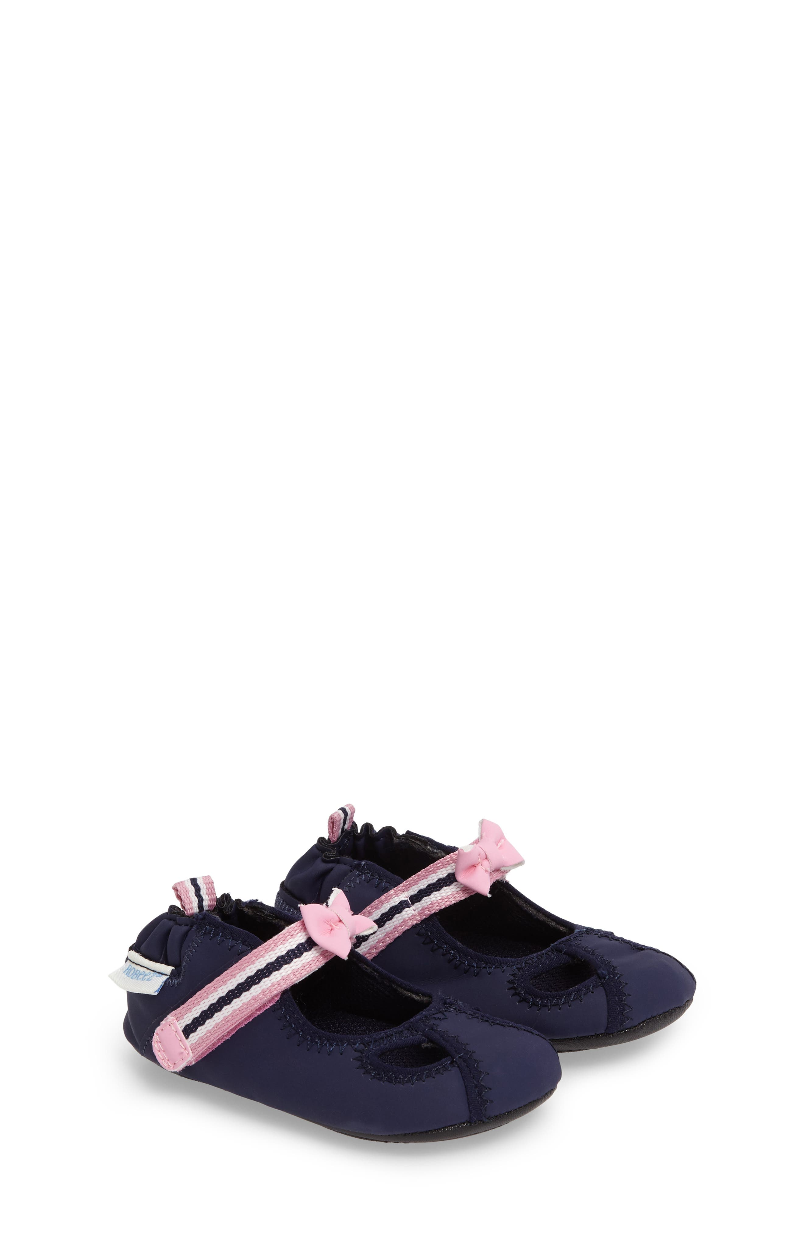 Wave Catcher Crib Shoe,                         Main,                         color, Navy