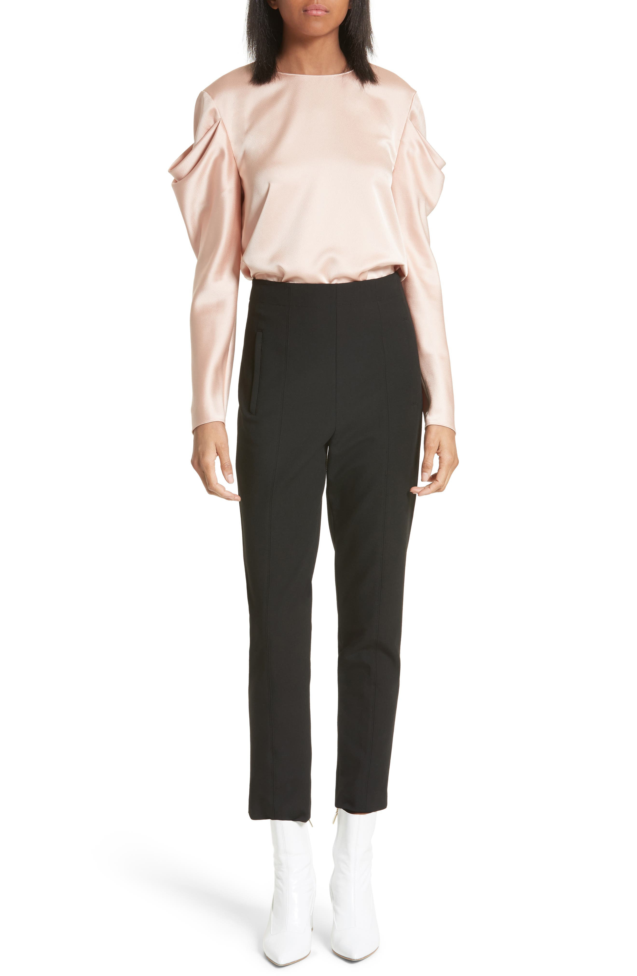 Tibi Wear To Where Looks For Every Occasion Women Nordstrom Elaine Teal Top Leux Studio L