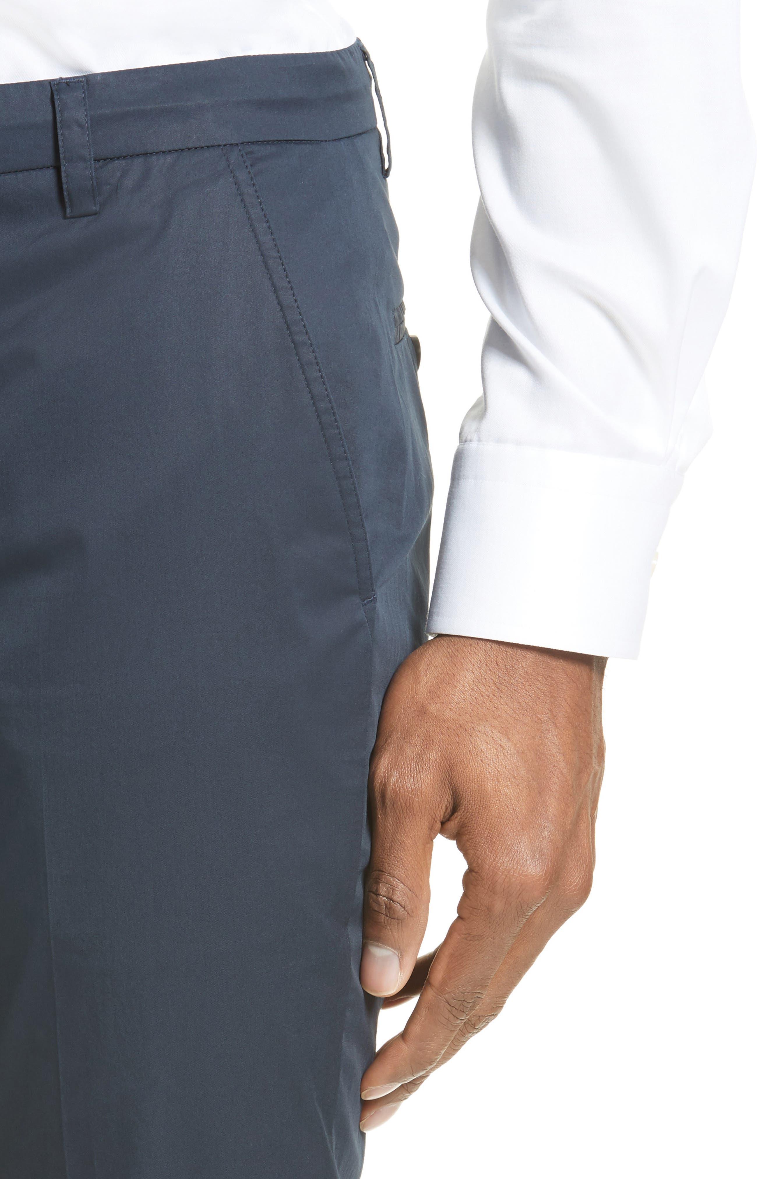 Alternate Image 4  - ATM Anthony Thomas Melillo Cuffed Cotton Poplin Pants