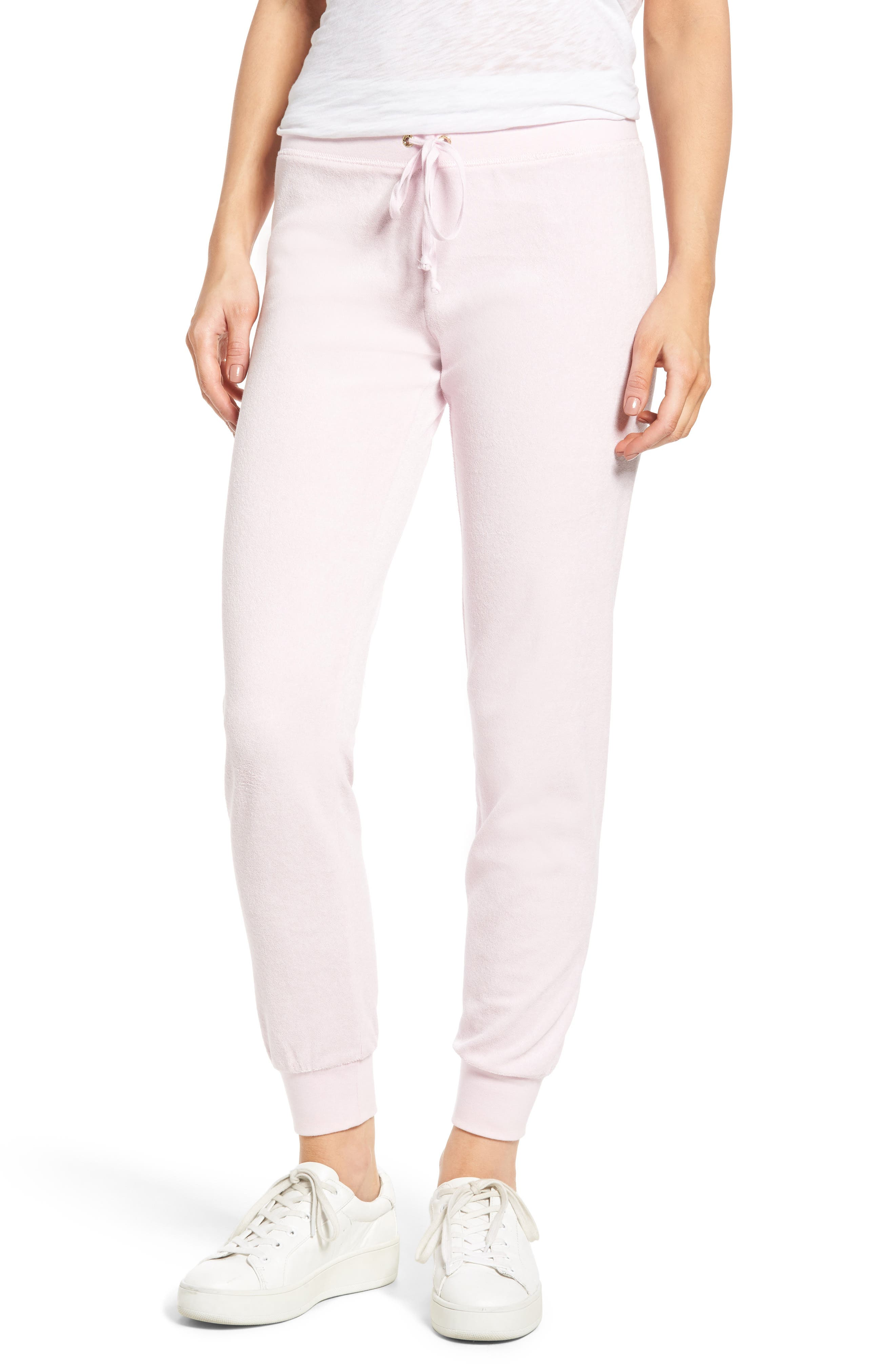 Main Image - Juicy Couture Zuma Microterry Track Pants