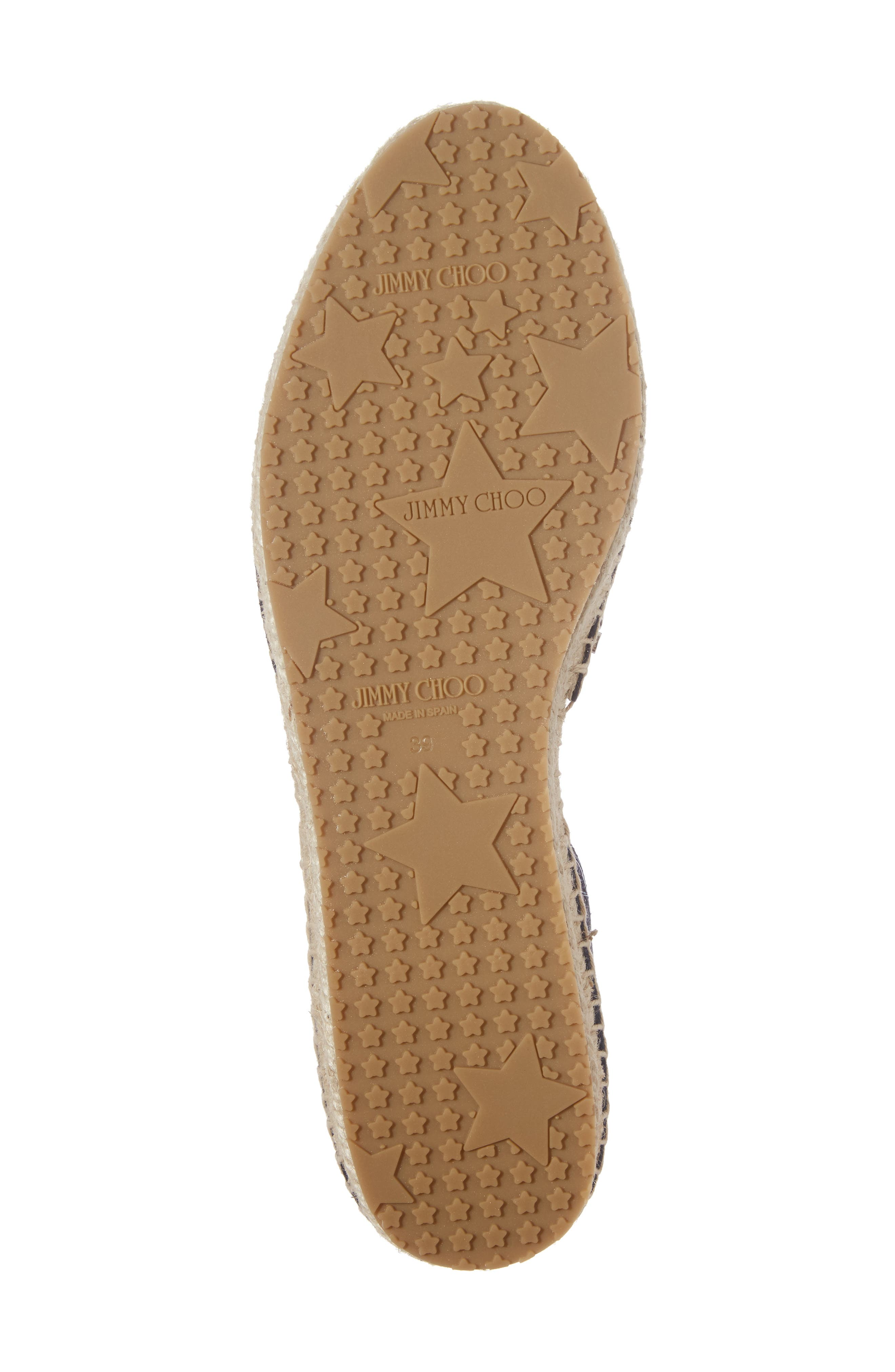 Alternate Image 6  - Jimmy Choo Split Espadrille Flat (Women)