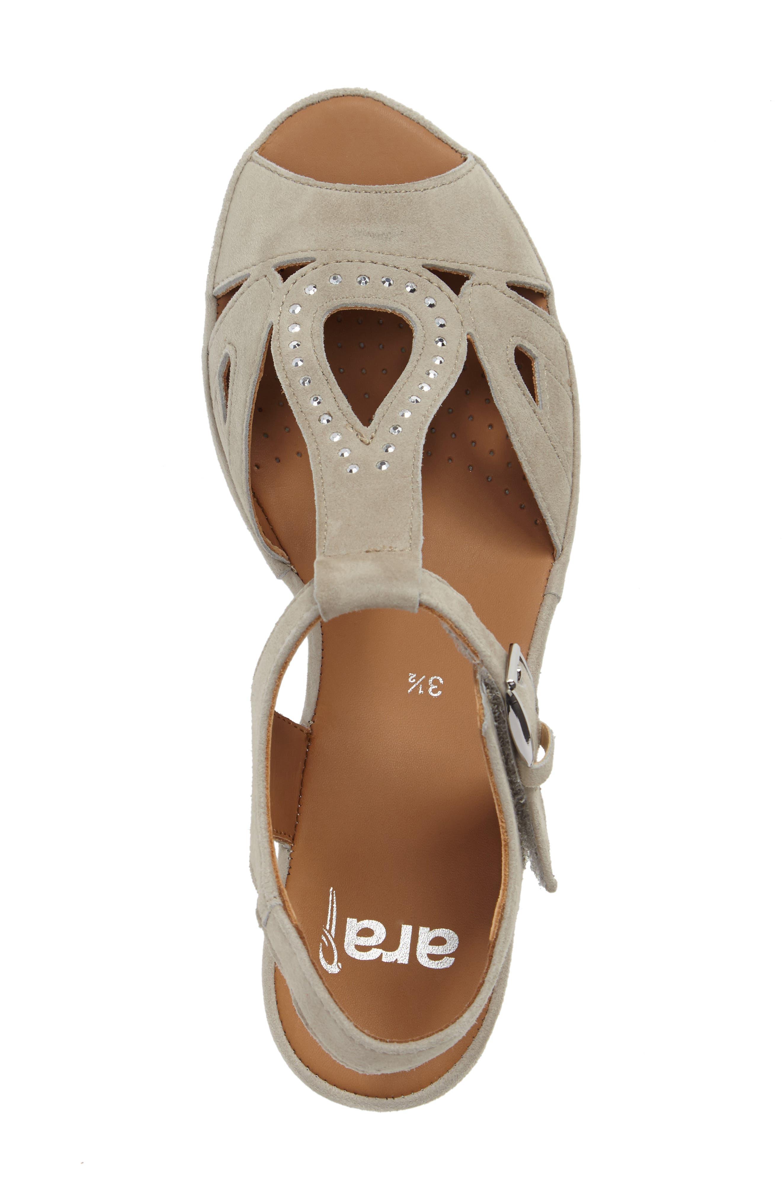 Alternate Image 5  - ara Wedge Sandal (Women)