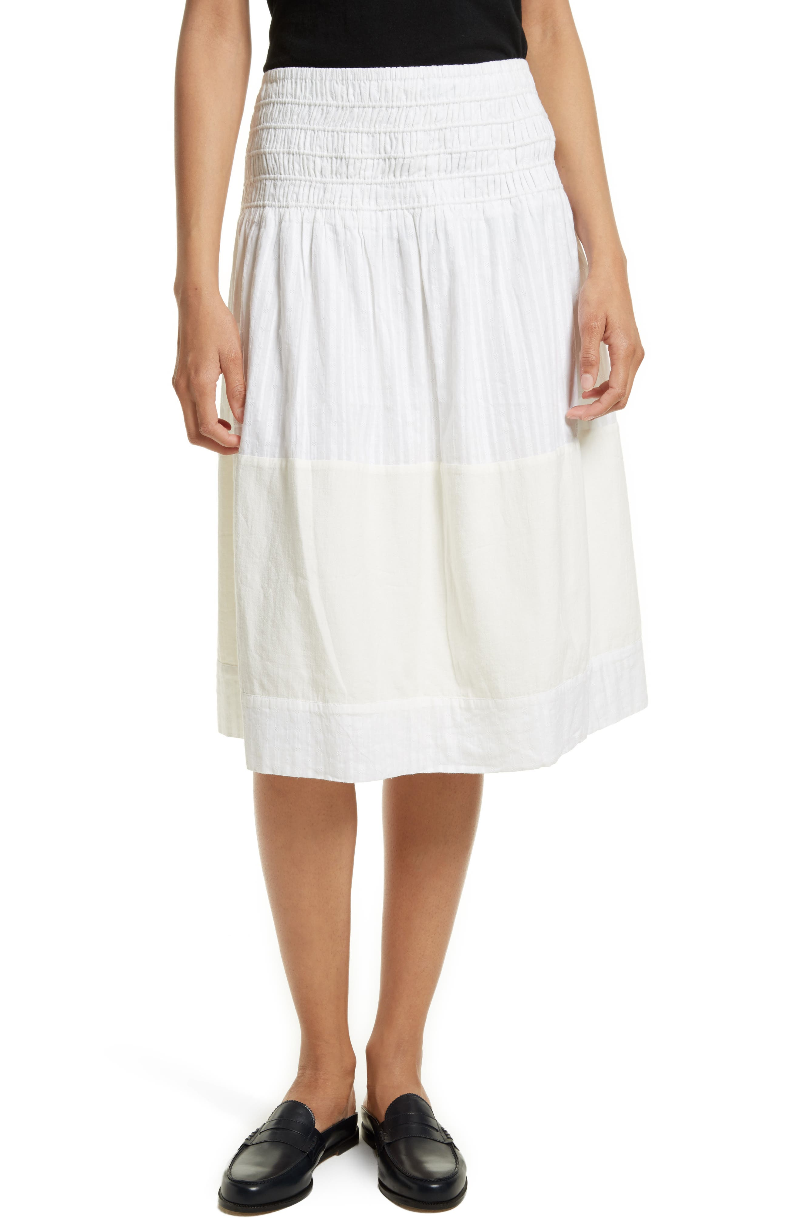 The Afternoon Skirt,                         Main,                         color, Off White