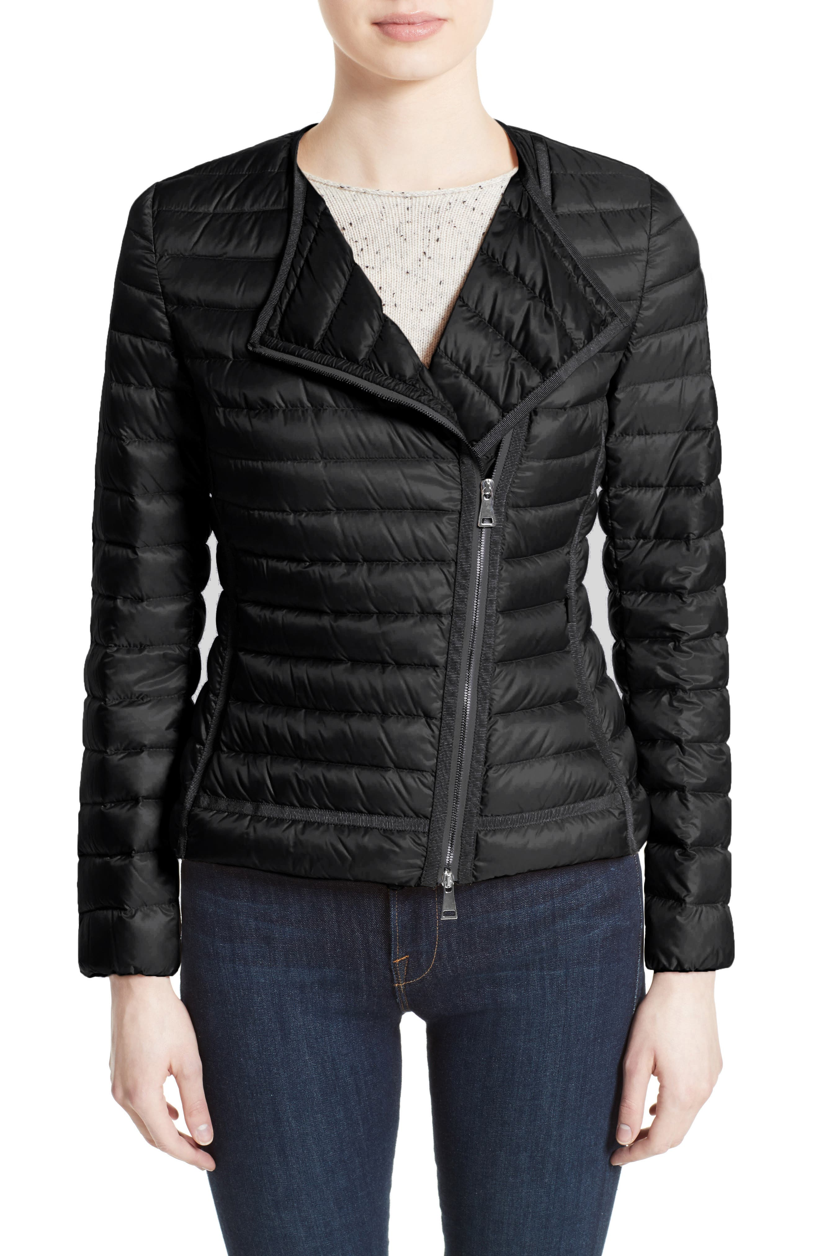 Main Image - Moncler Amy Quilted Down Jacket