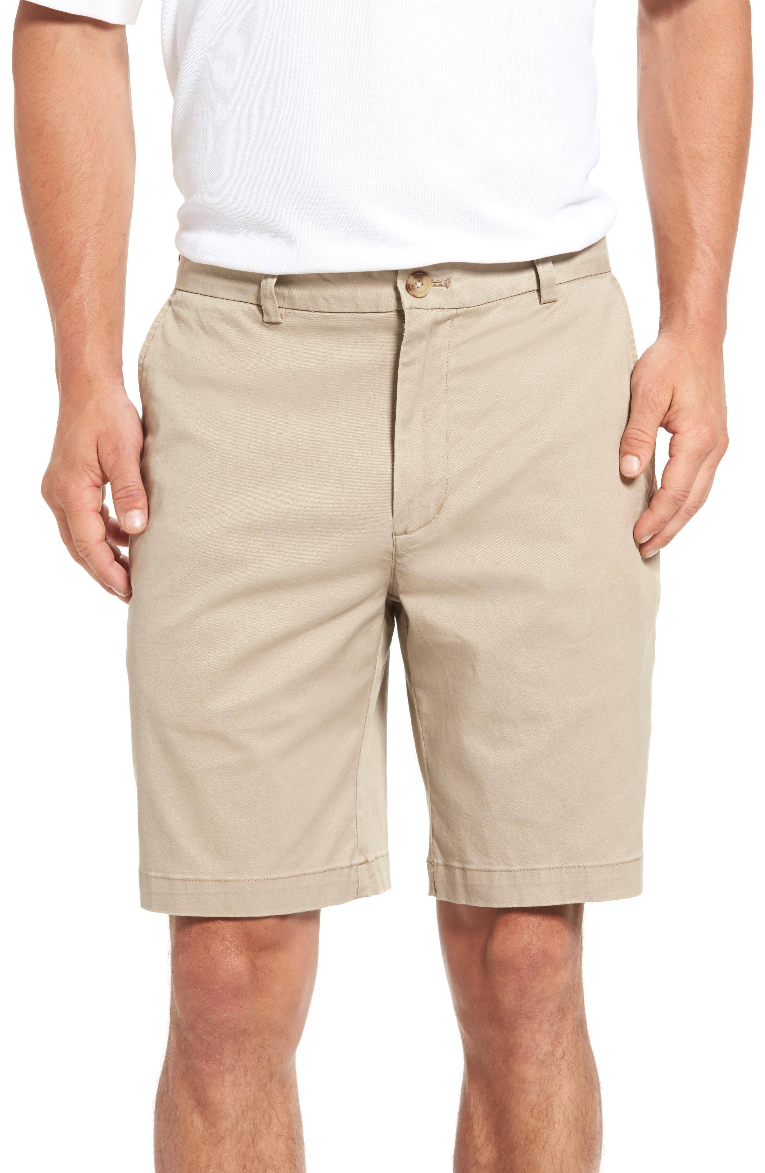 9 Inch Stretch Breaker Shorts,                             Main thumbnail 1, color,                             Khaki