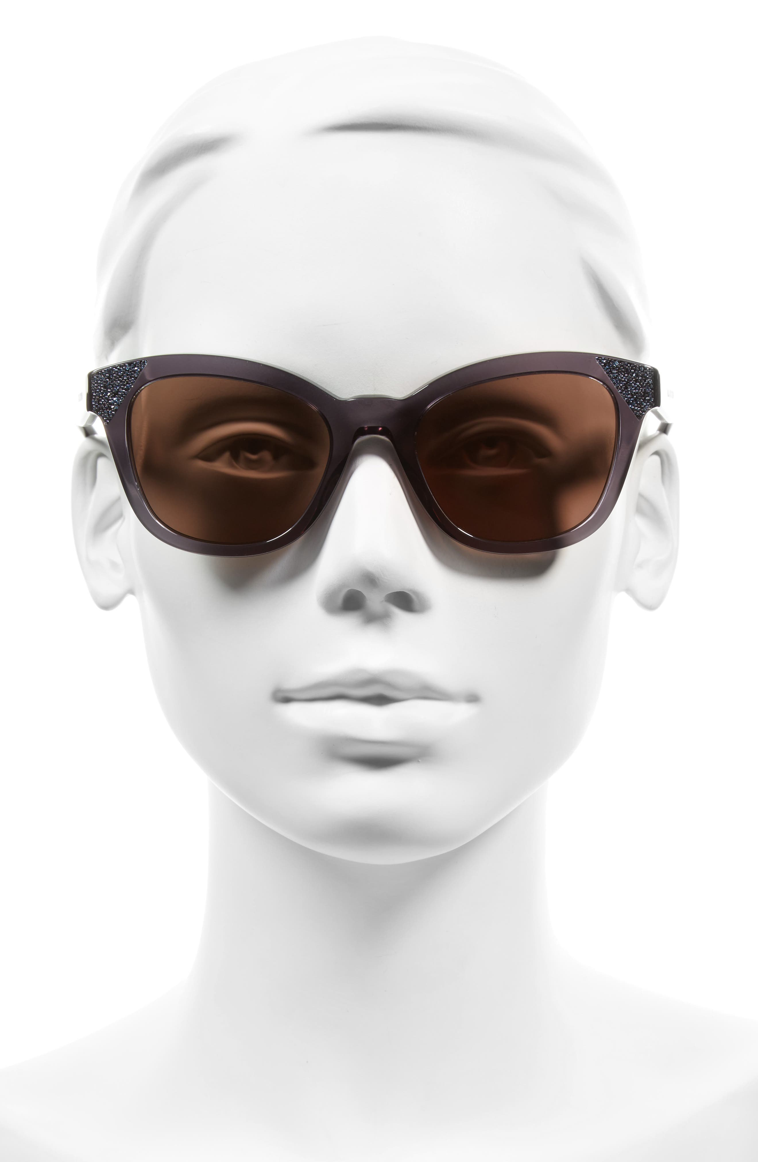 Alternate Image 2  - Valentino 52mm Cat Eye Sunglasses