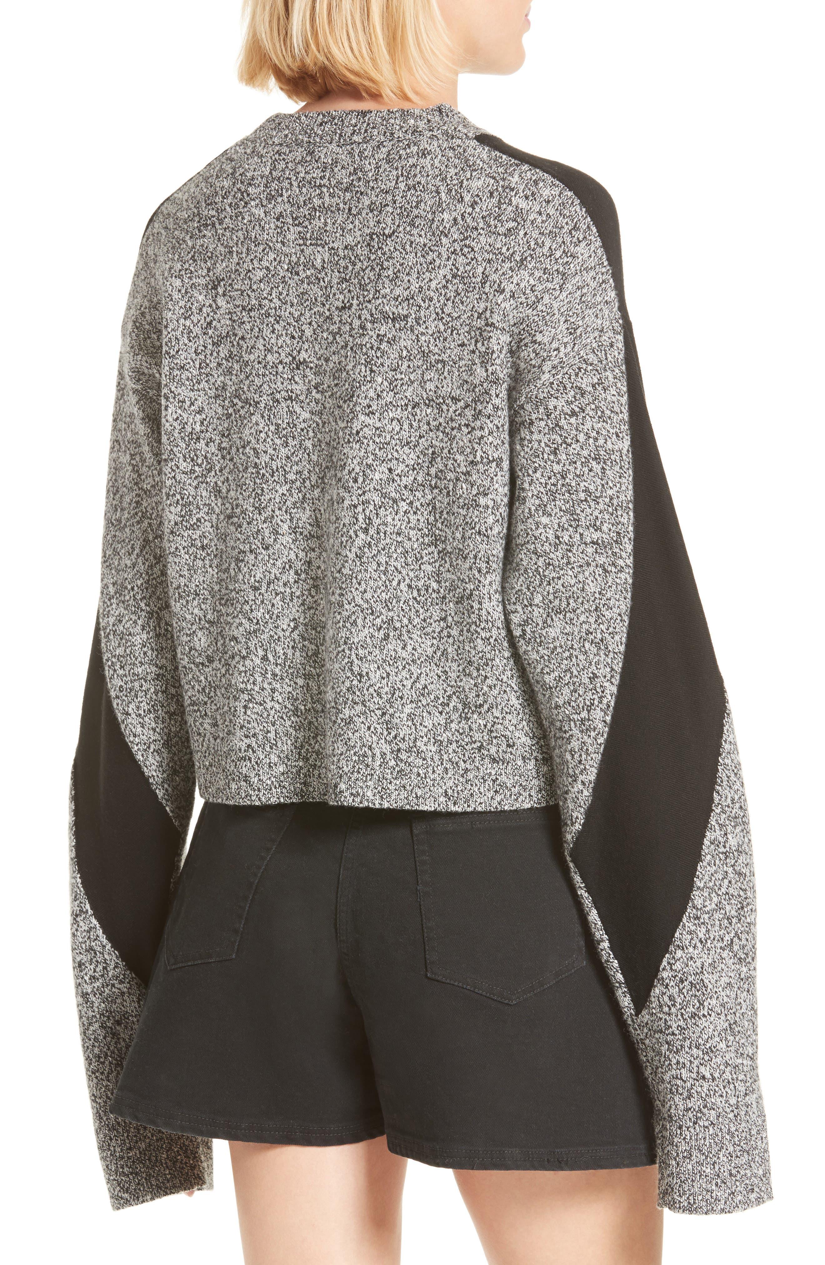 Sana Sweater,                             Alternate thumbnail 3, color,                             Grey Melange