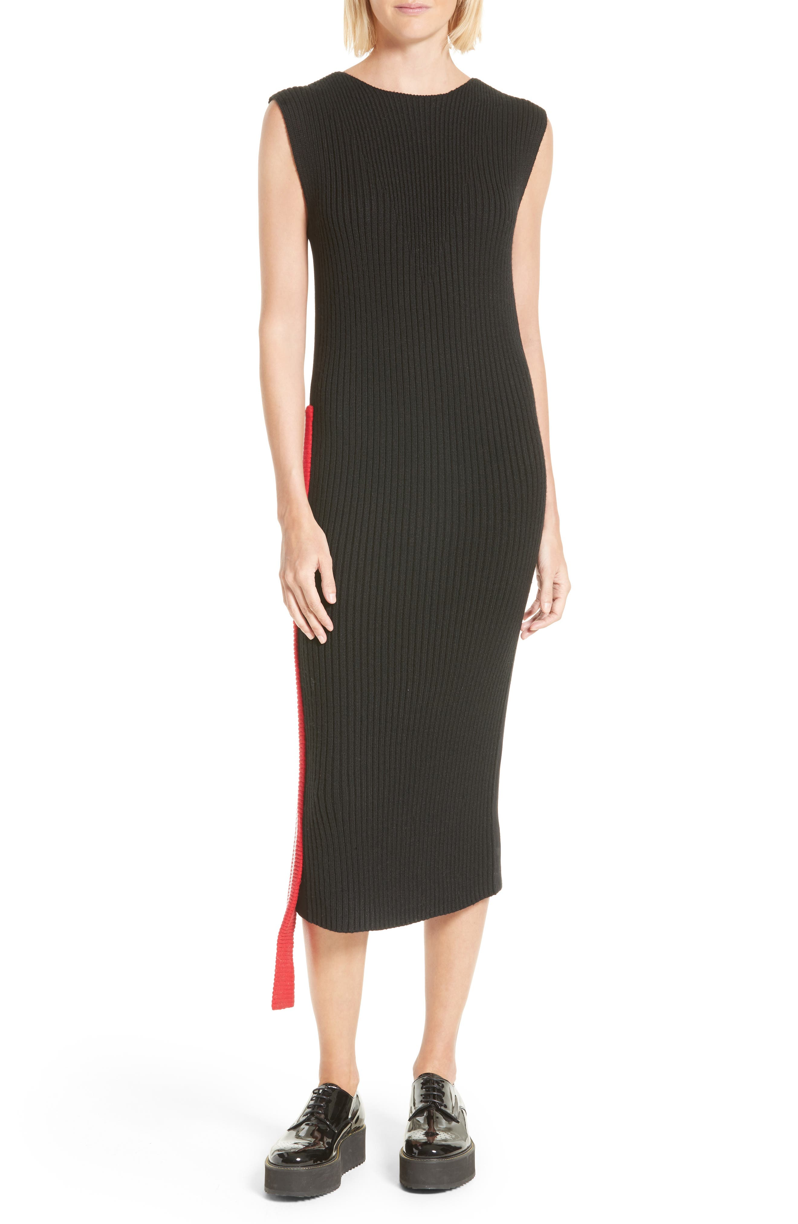 Alternate Image 1 Selected - Public School Serat Stripe Rib Knit Dress