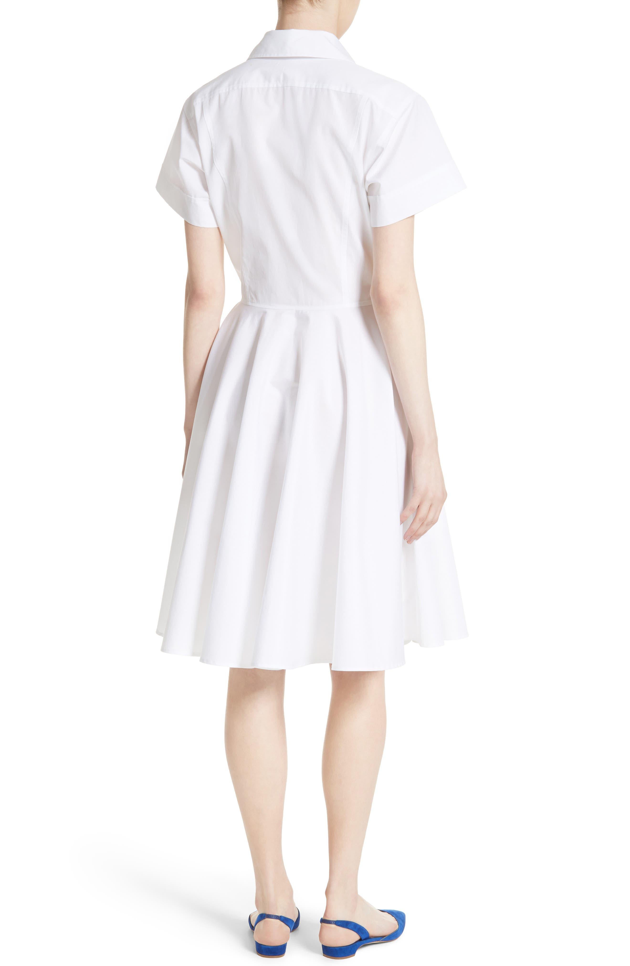 Alternate Image 2  - Diane von Furstenberg Cotton Shirtdress
