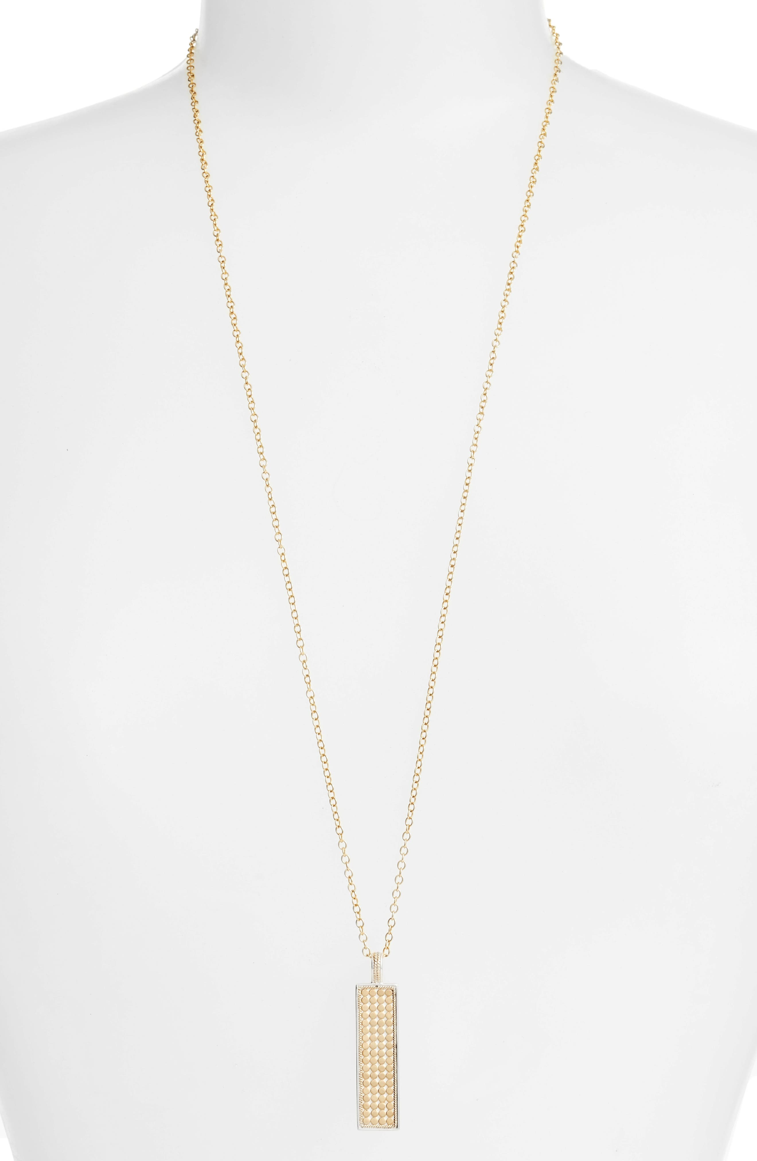 Anna Beck Long Bar Pendant Necklace