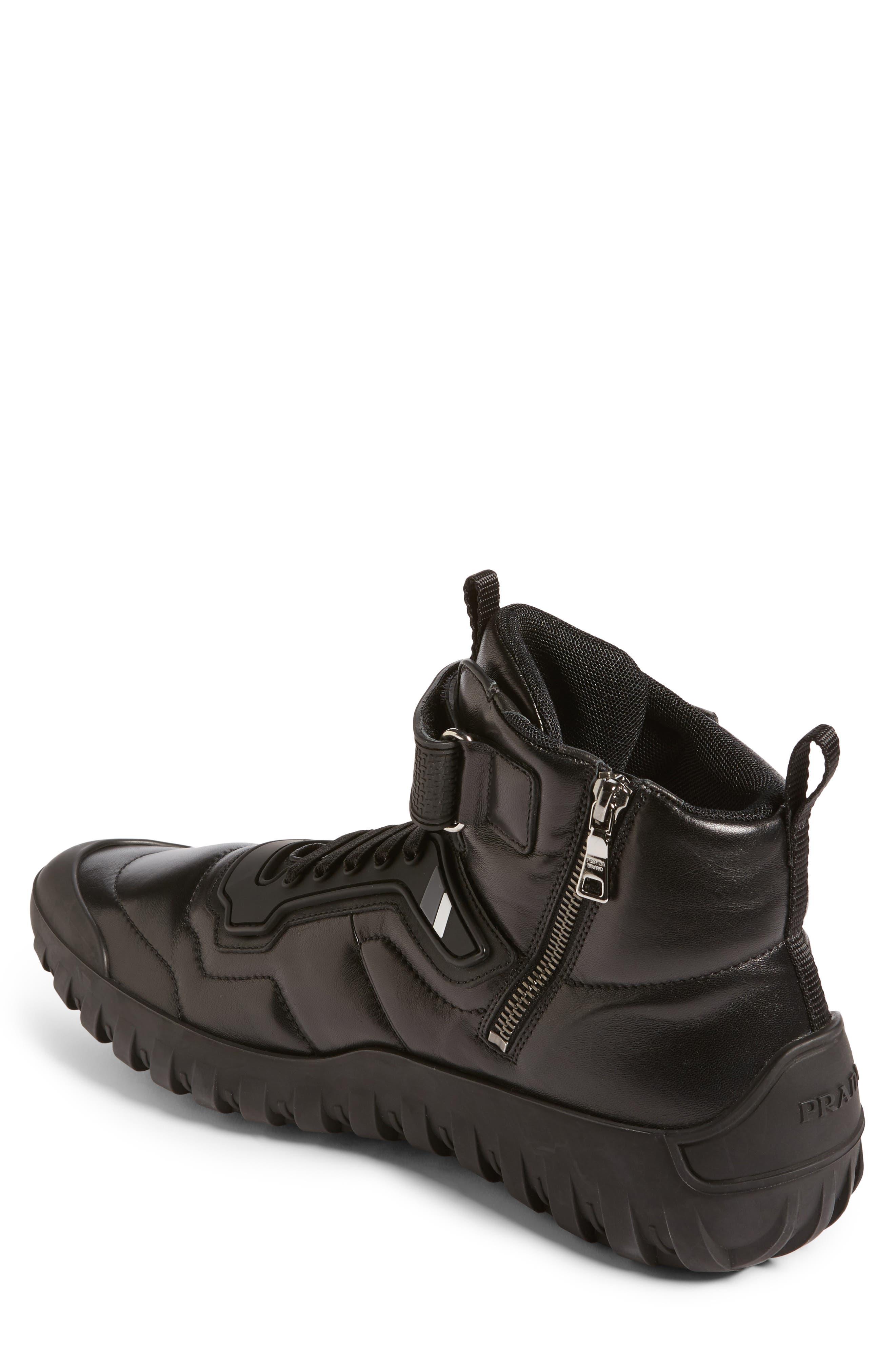 Alternate Image 2  - Prada Linea Rossa Tech Strap Sneaker (Men)