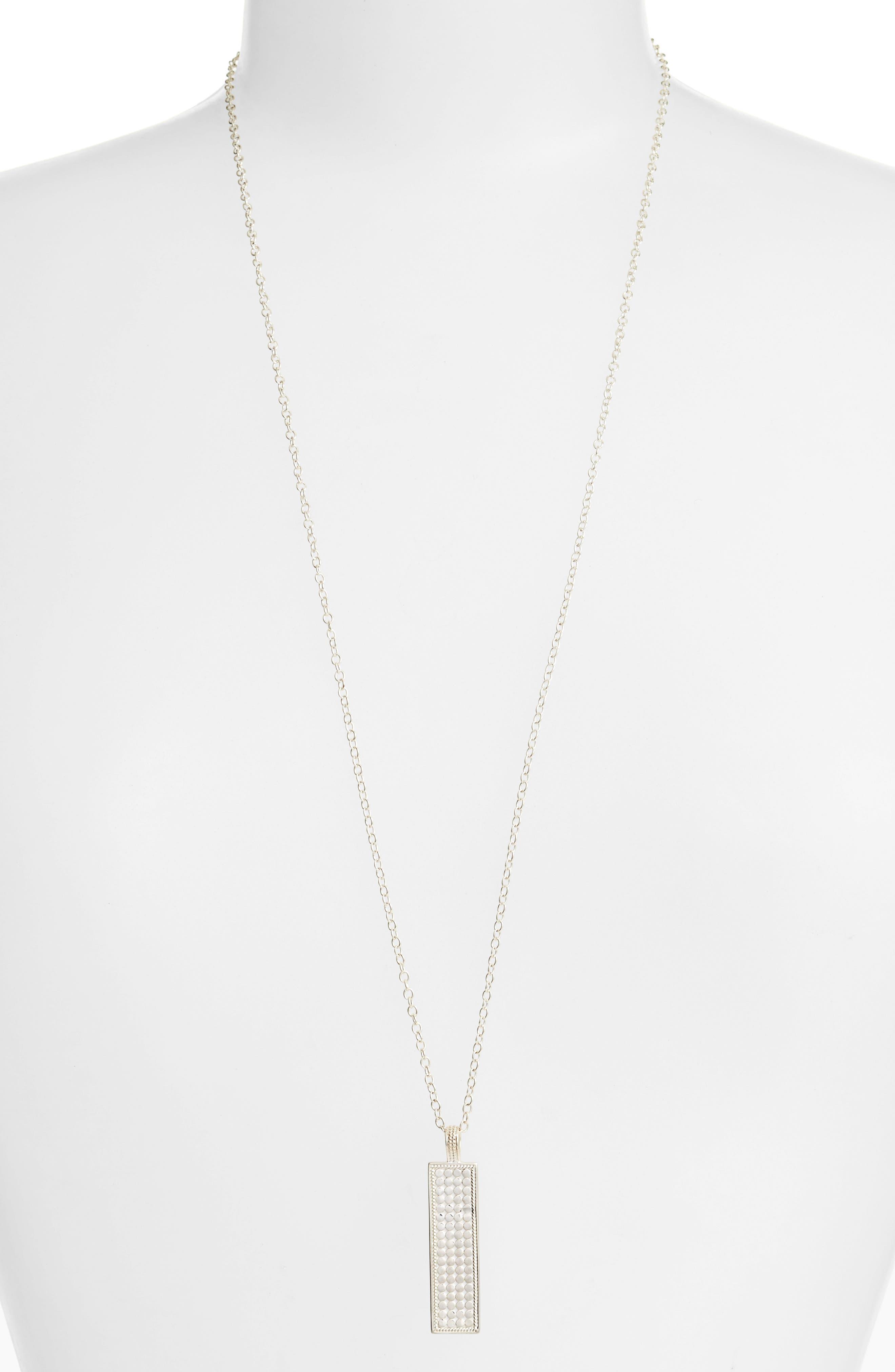 Anna Beck Long Bar Pendant Necklace