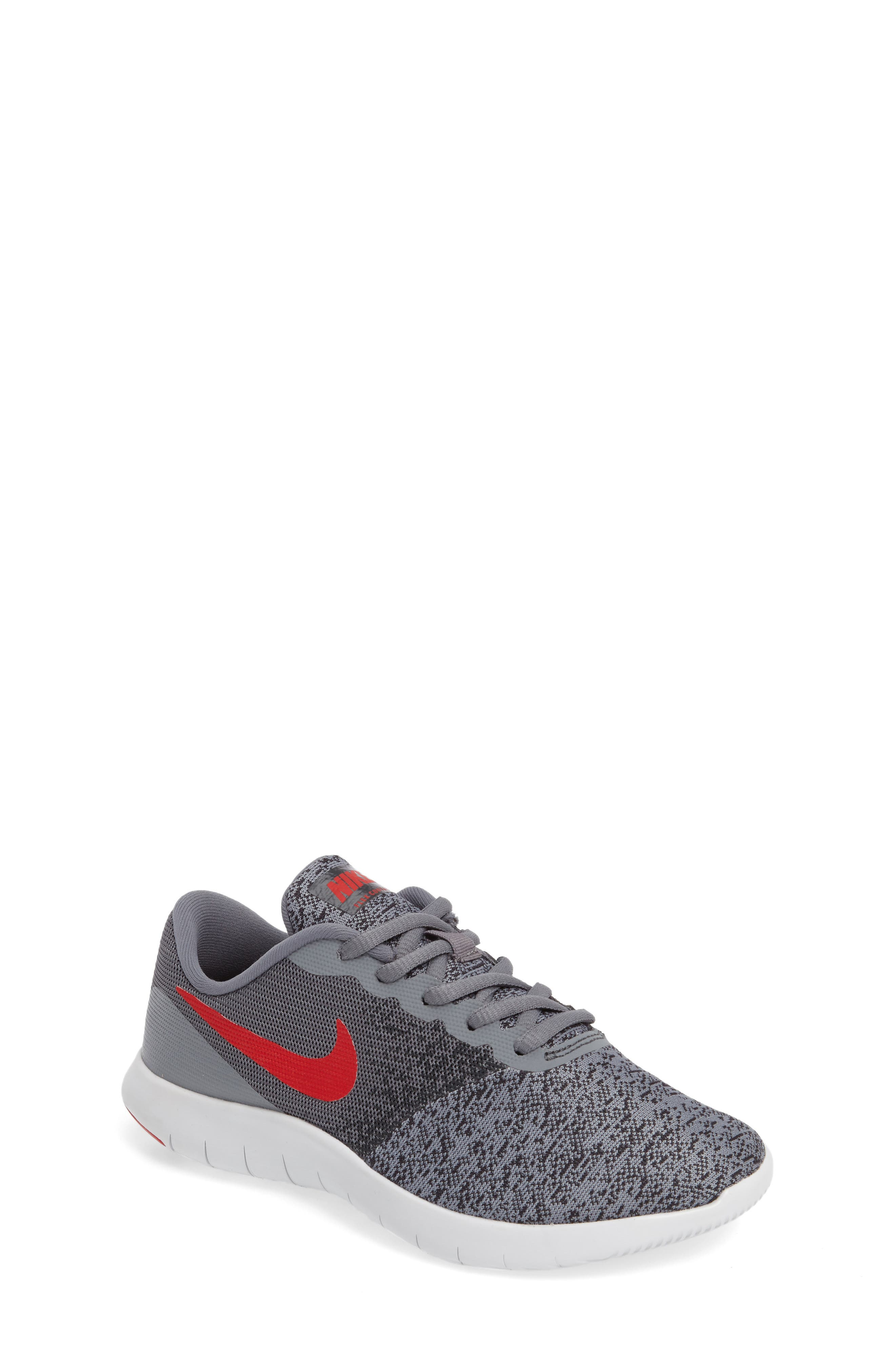 Nike Flex Contact Running Shoe (Big Kid) (Regular Retail Price: $65.00)