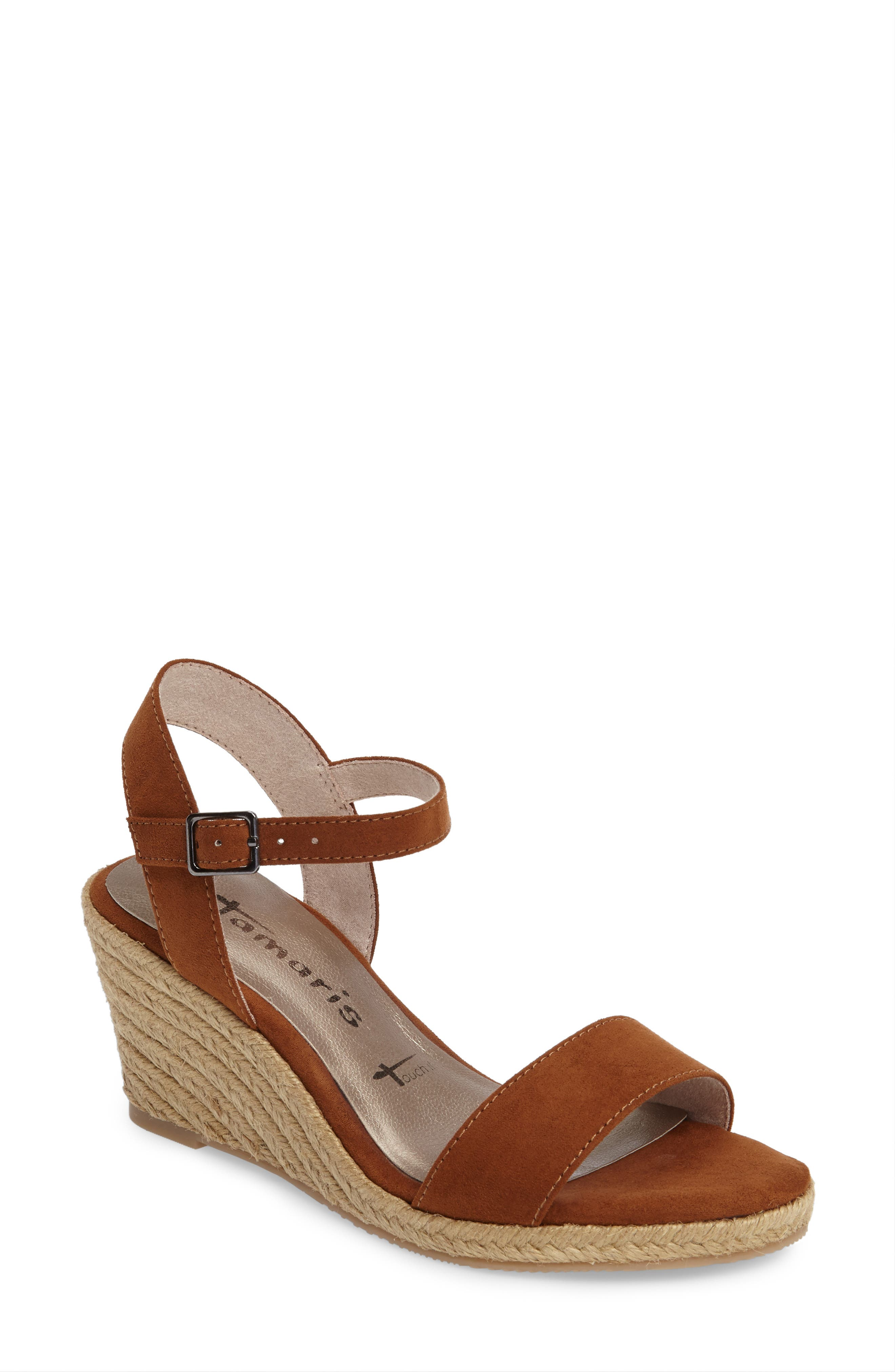 Tamaris Livia Espadrille Wedge Sandal (Women)