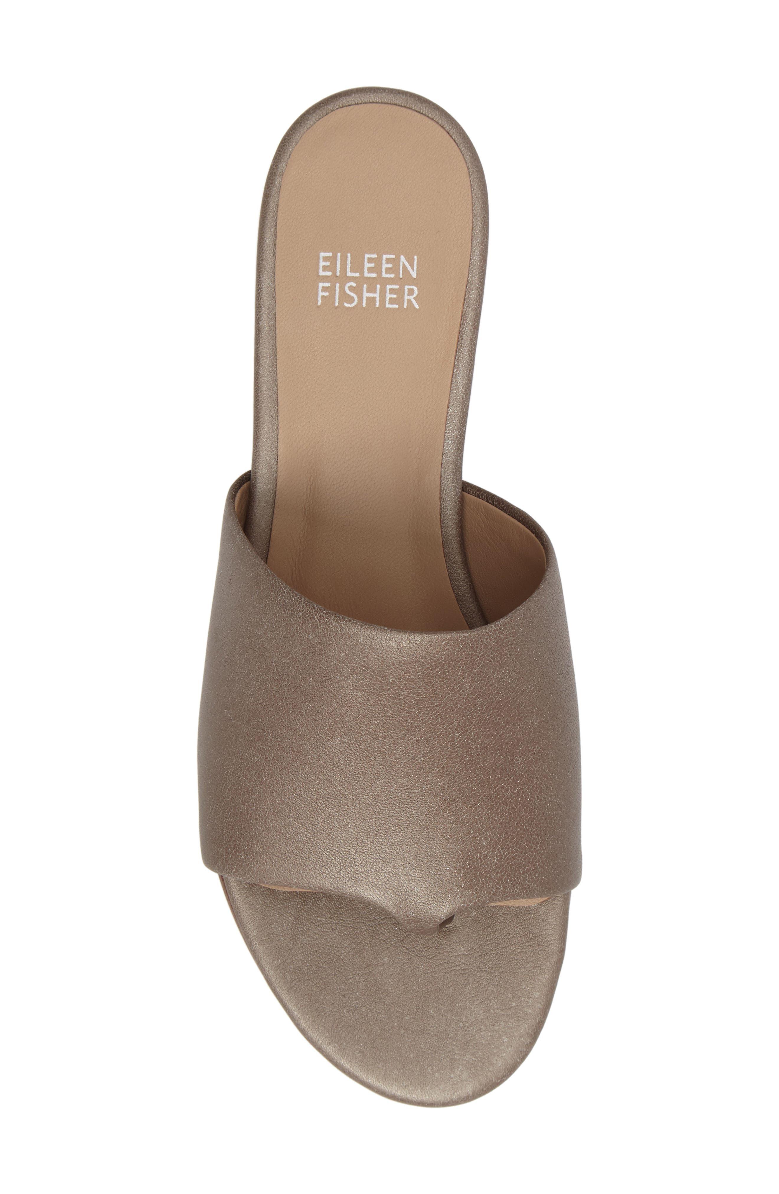 Beal Slide Sandal,                             Alternate thumbnail 5, color,                             Pyrite Leather