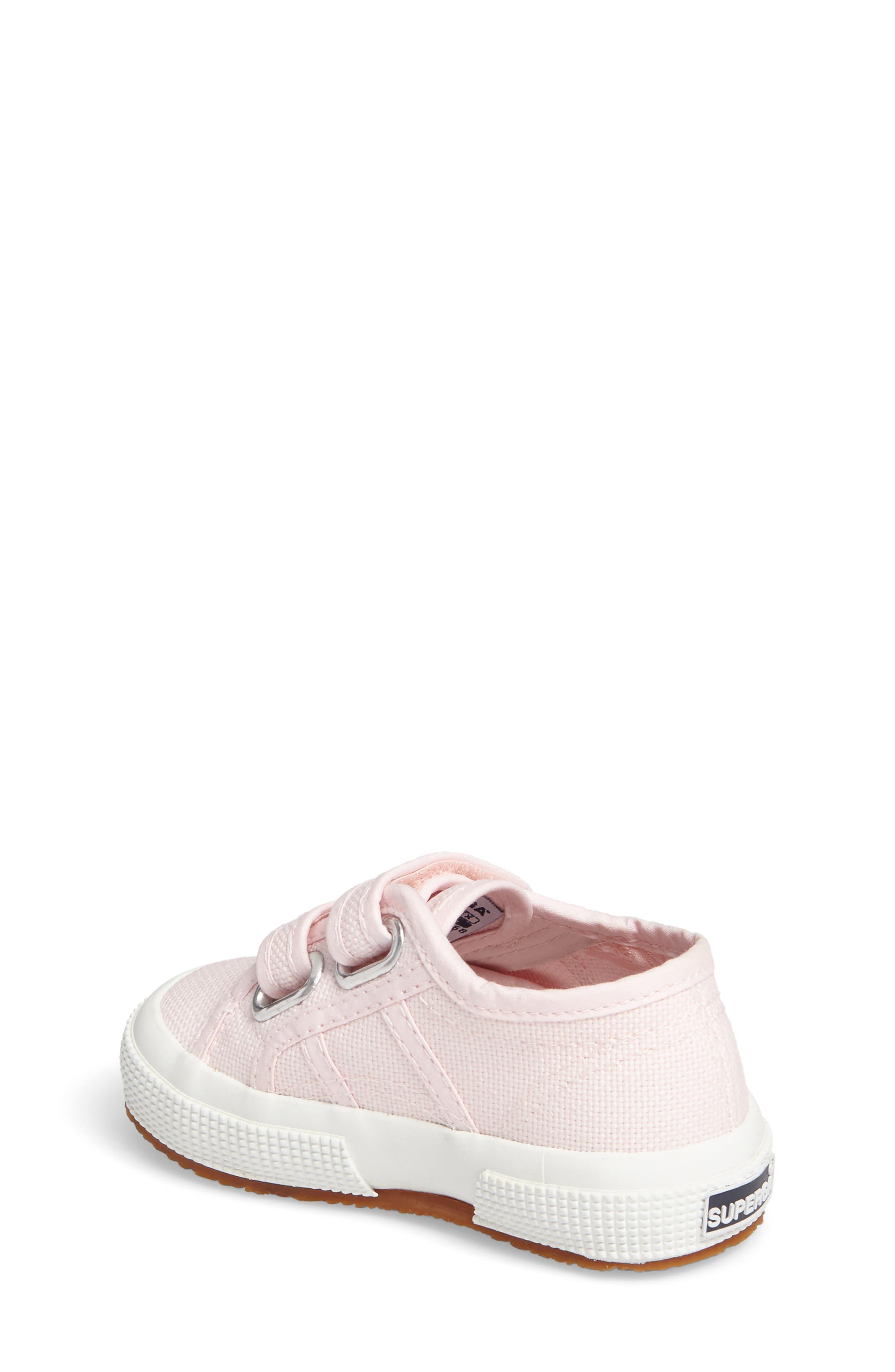 'Junior Classic' Sneaker,                             Alternate thumbnail 2, color,                             Pink
