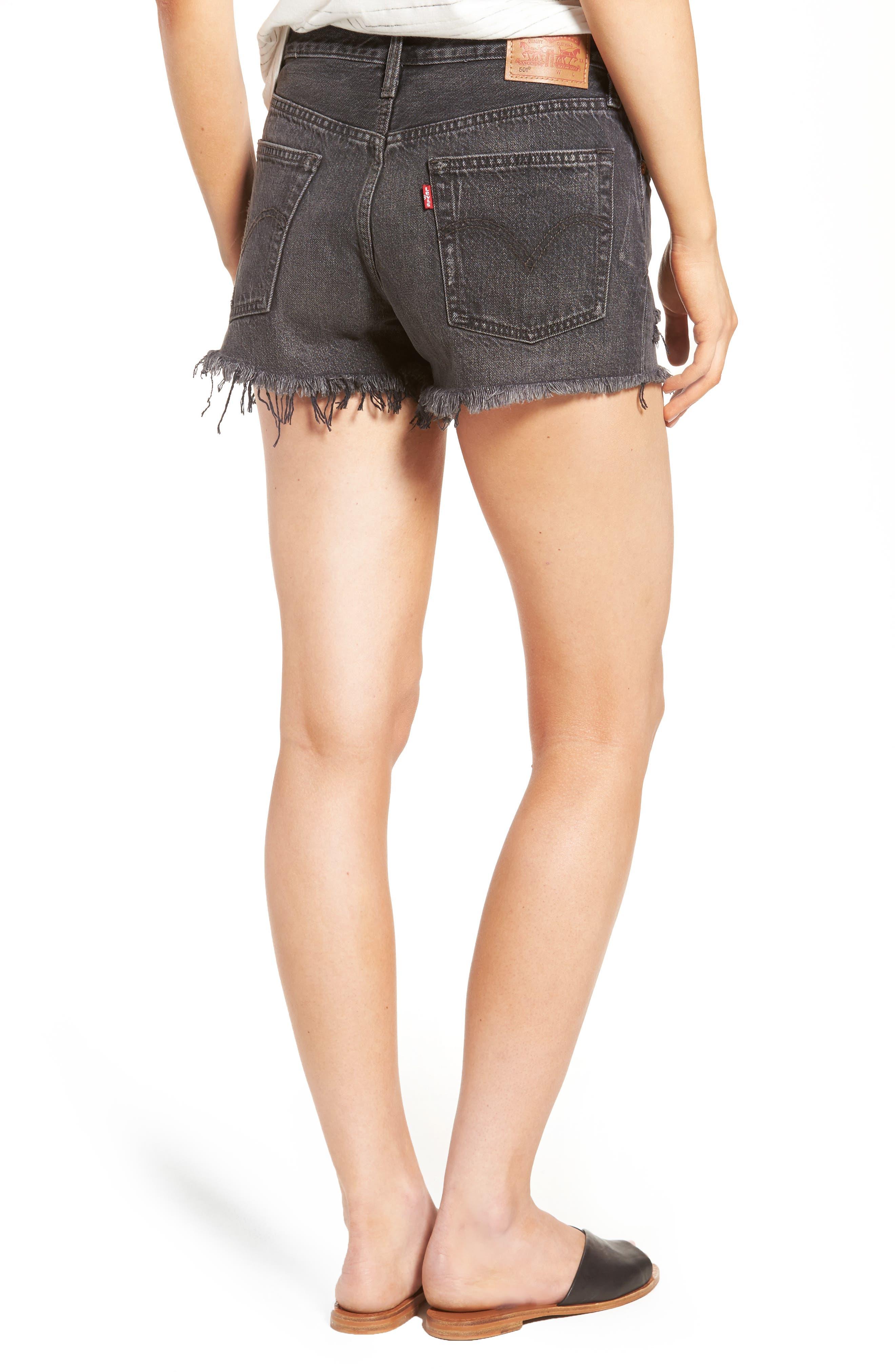 Alternate Image 2  - Levi's® 501® Cutoff Denim Shorts