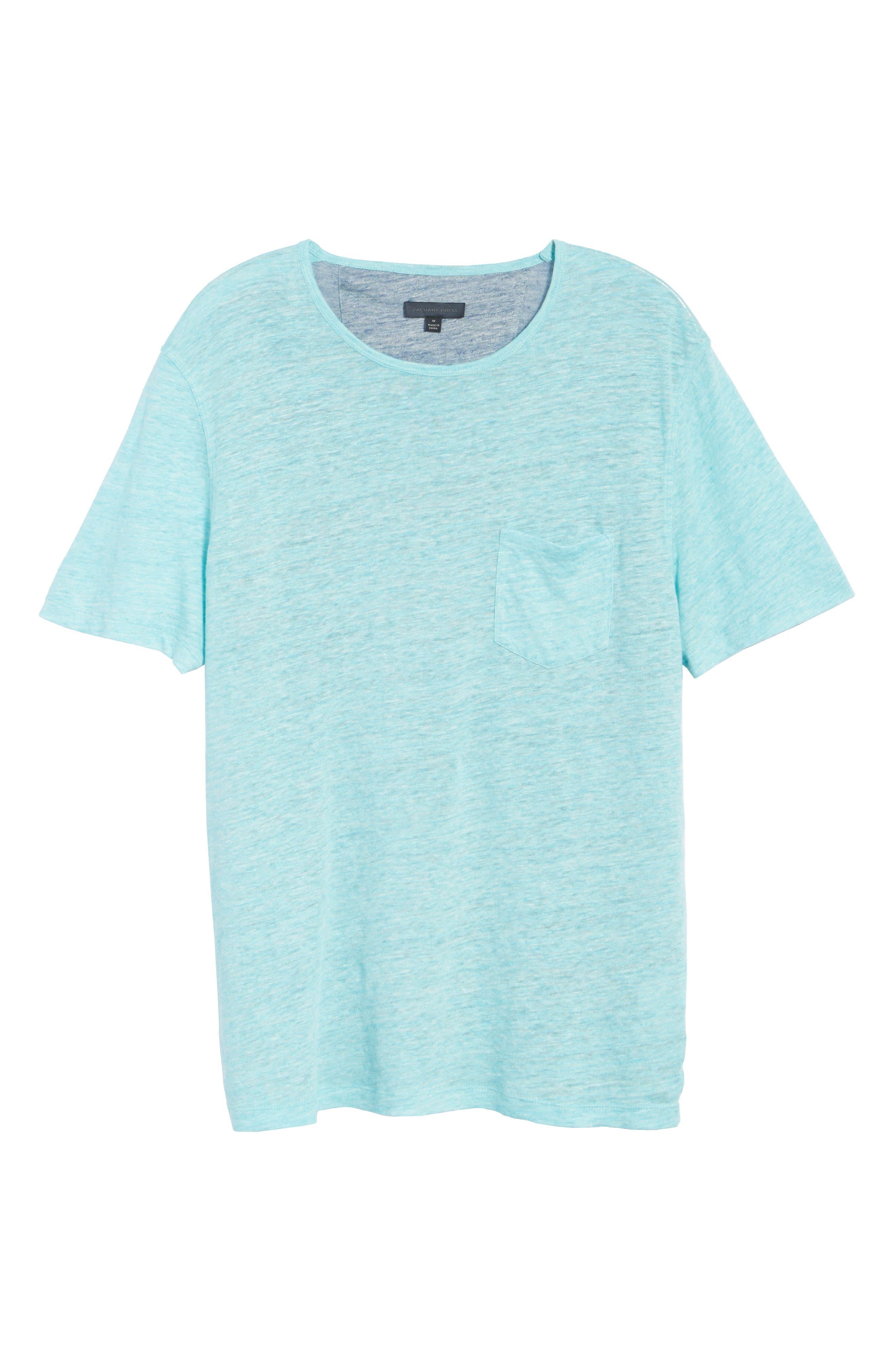 Alternate Image 6  - Zachary Prell Monad Colorblock Linen T-Shirt