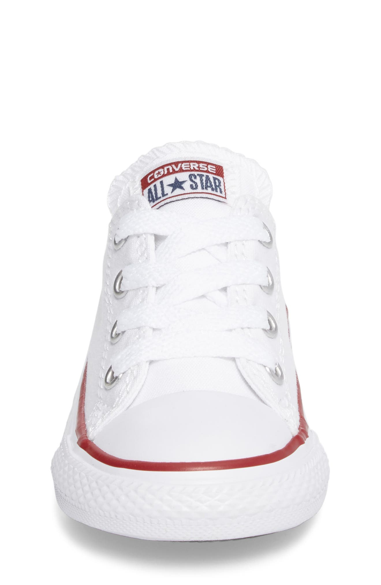 Alternate Image 5  - Converse Chuck Taylor® Low Top Sneaker (Baby, Walker & Toddler)