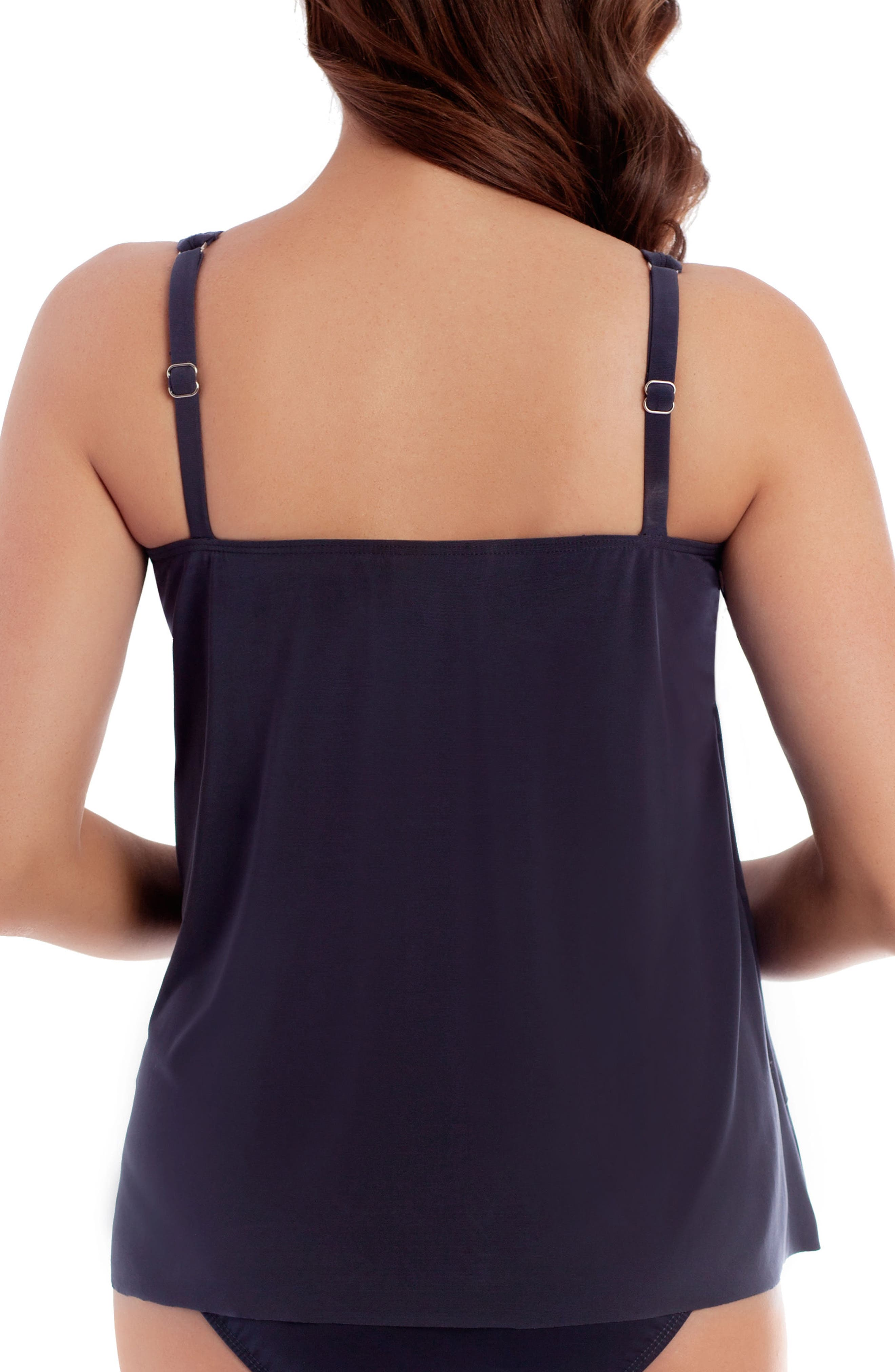Alternate Image 2  - Miraclesuit® Illusionists Mirage Underwire Tankini Top