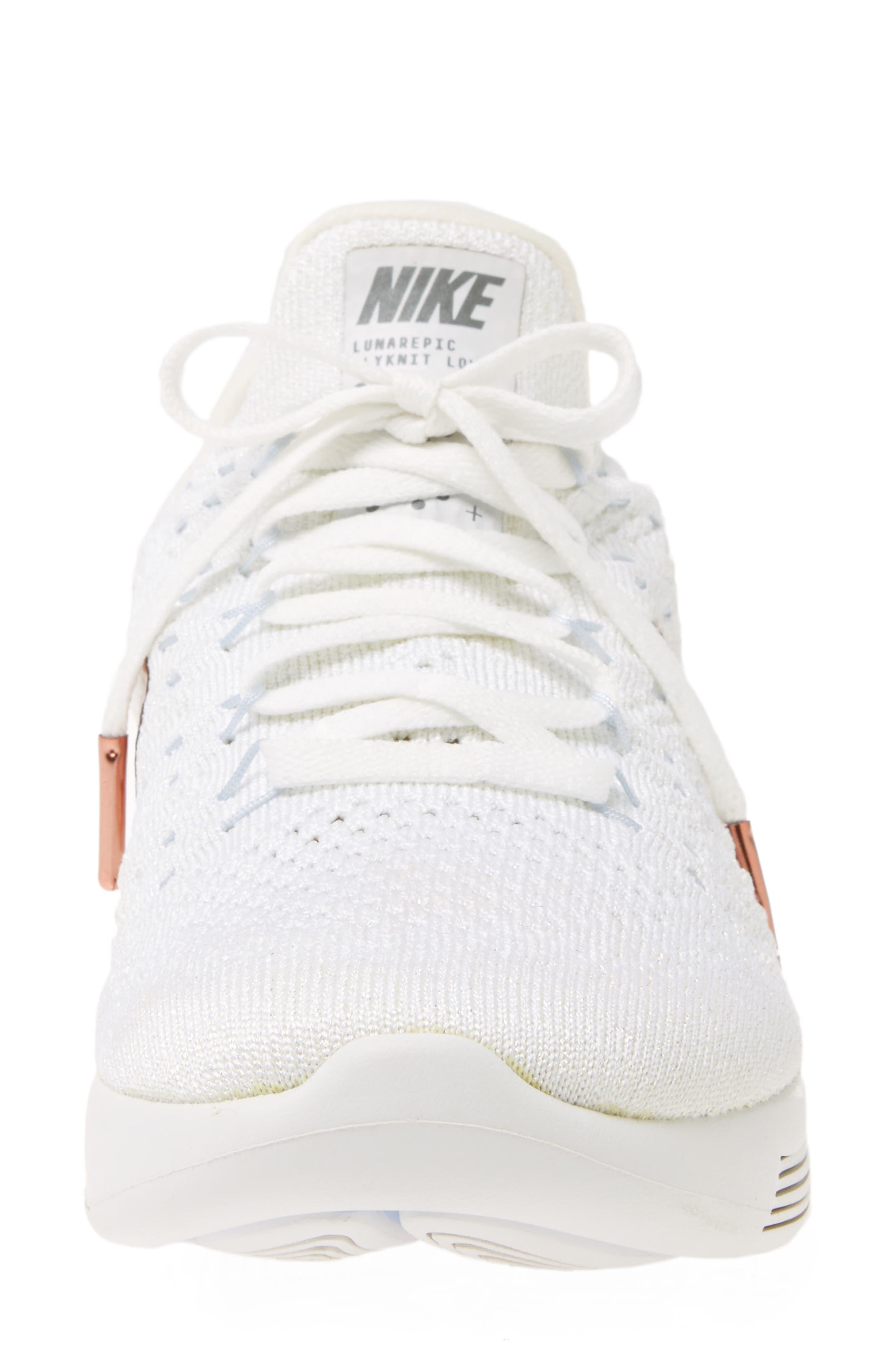 Alternate Image 4  - Nike LunarEpic Low Flyknit 2 X-Plore Running Shoe (Women)