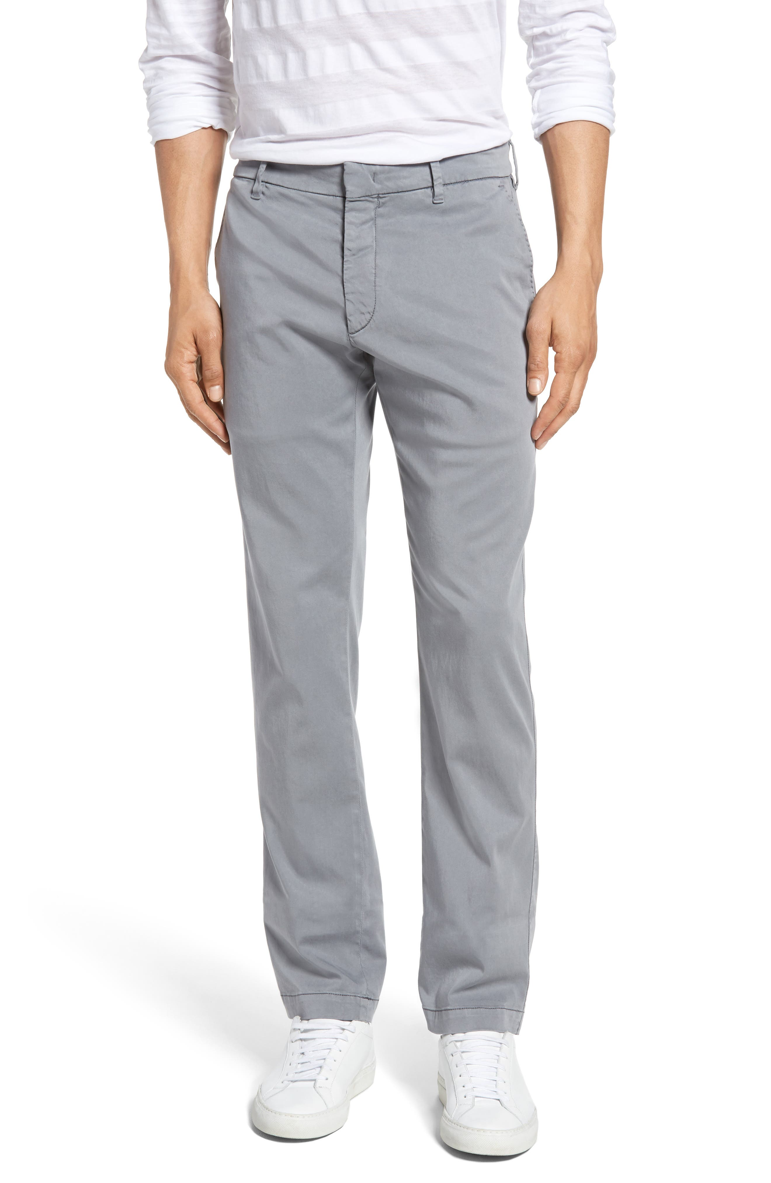 Aster Straight Leg Trousers,                             Main thumbnail 1, color,                             Grey