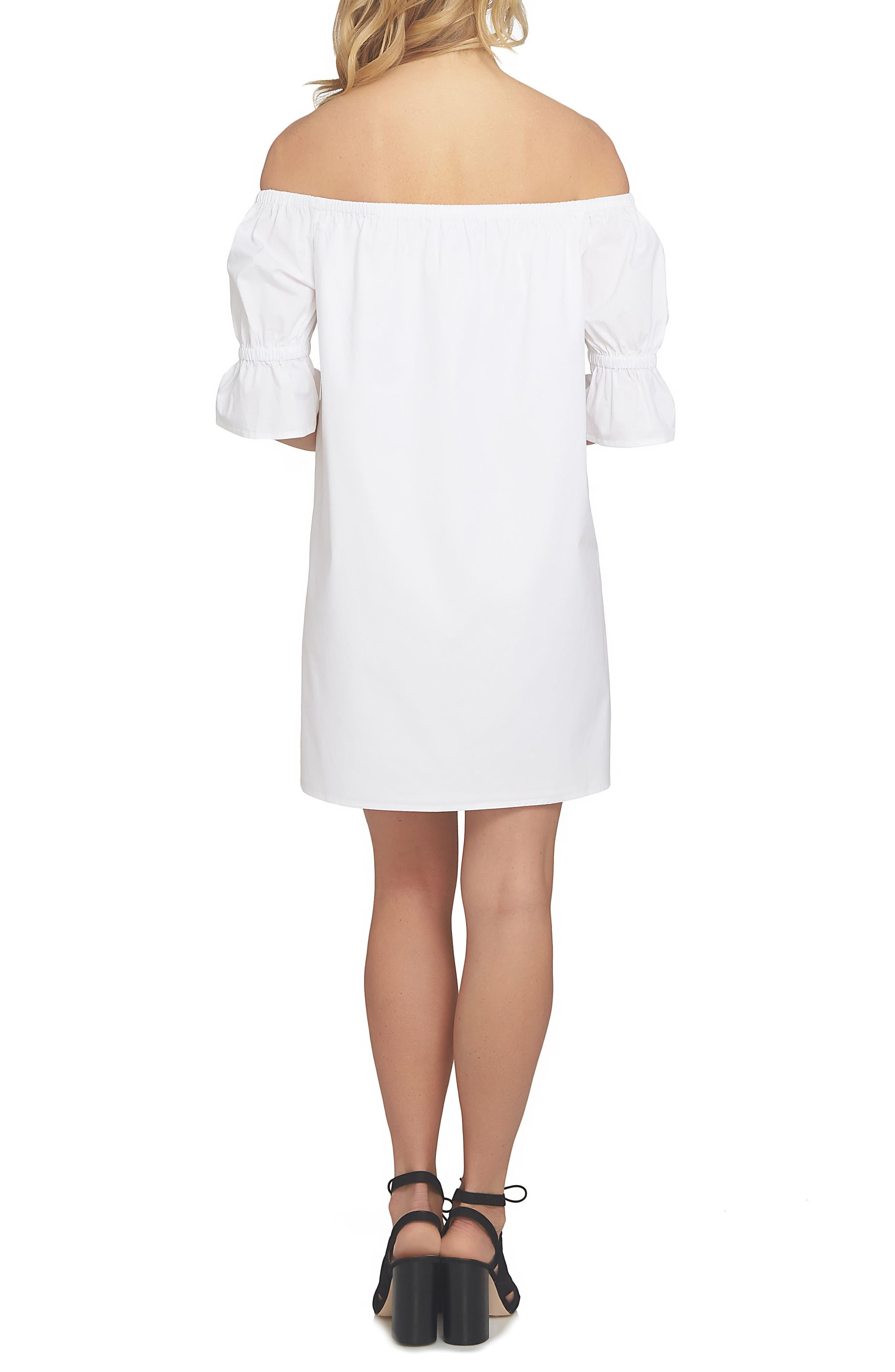 Alternate Image 2  - 1.STATE Off the Shoulder Shift Dress