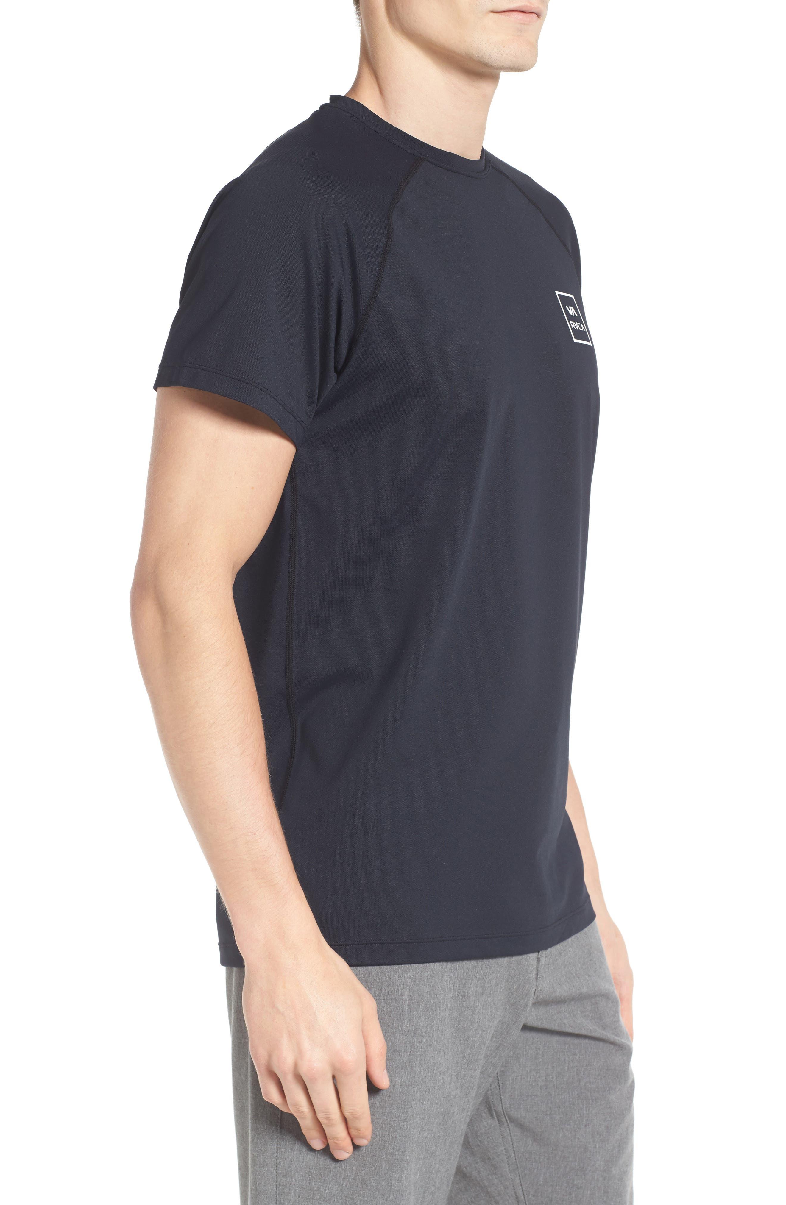 VA All the Way Surf T-Shirt,                             Alternate thumbnail 3, color,                             Black