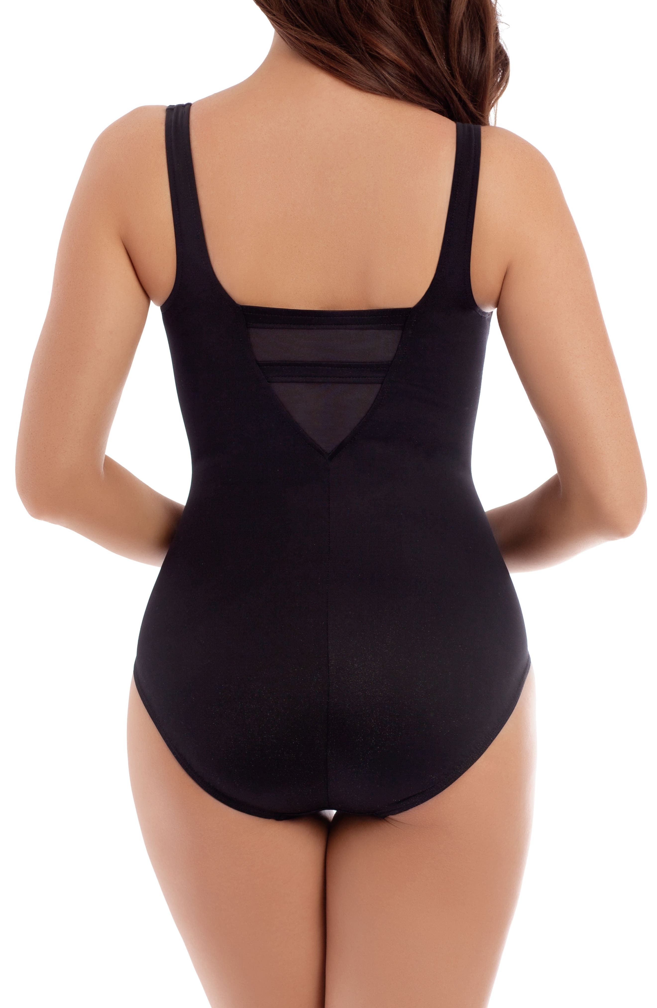 Alternate Image 2  - Miraclesuit® Illusionist It's a Cinch One-Piece Swimsuit