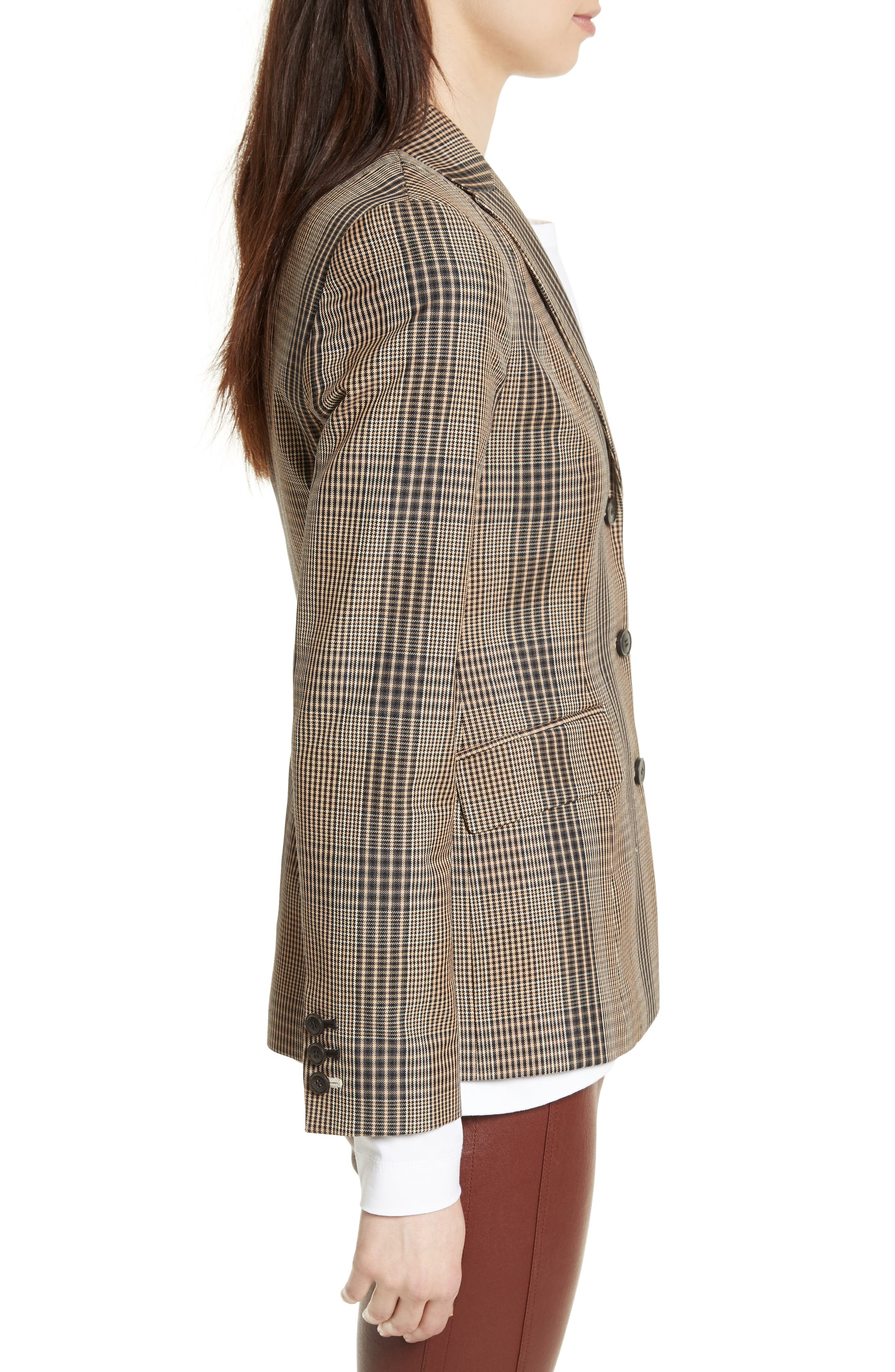 Alternate Image 4  - Theory Faringdon Check Riding Jacket