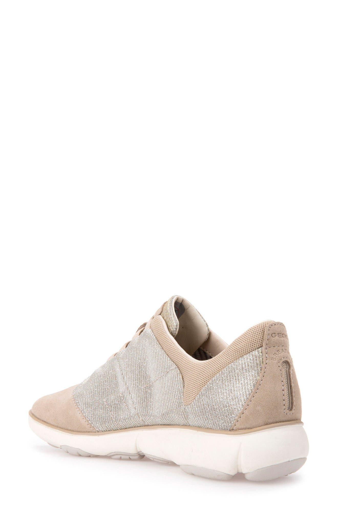 Nebula Slip-On Sneaker,                             Alternate thumbnail 2, color,                             Taupe Fabric