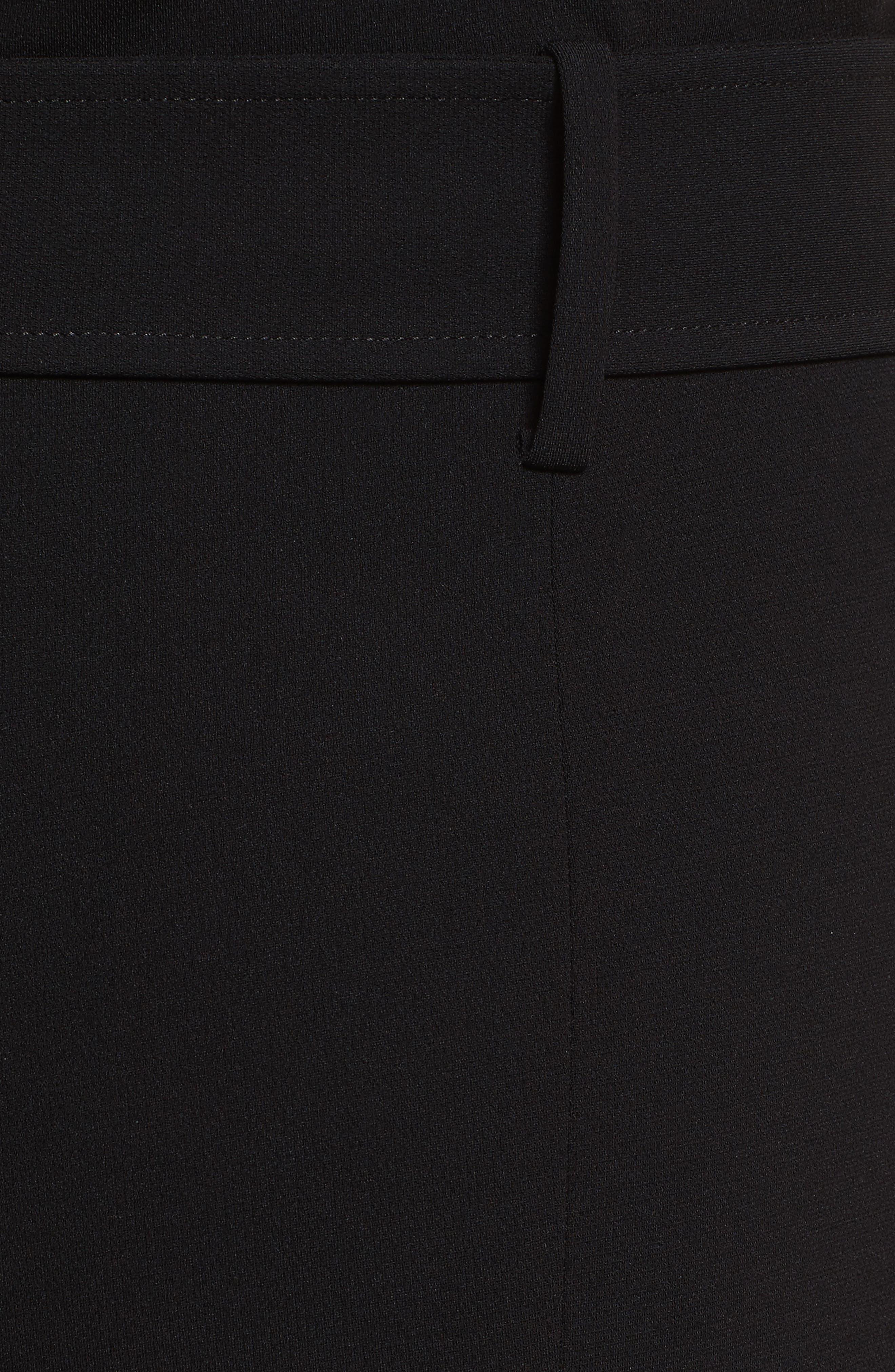 Off the Shoulder Admiral Crepe Jumpsuit,                             Alternate thumbnail 5, color,                             Black