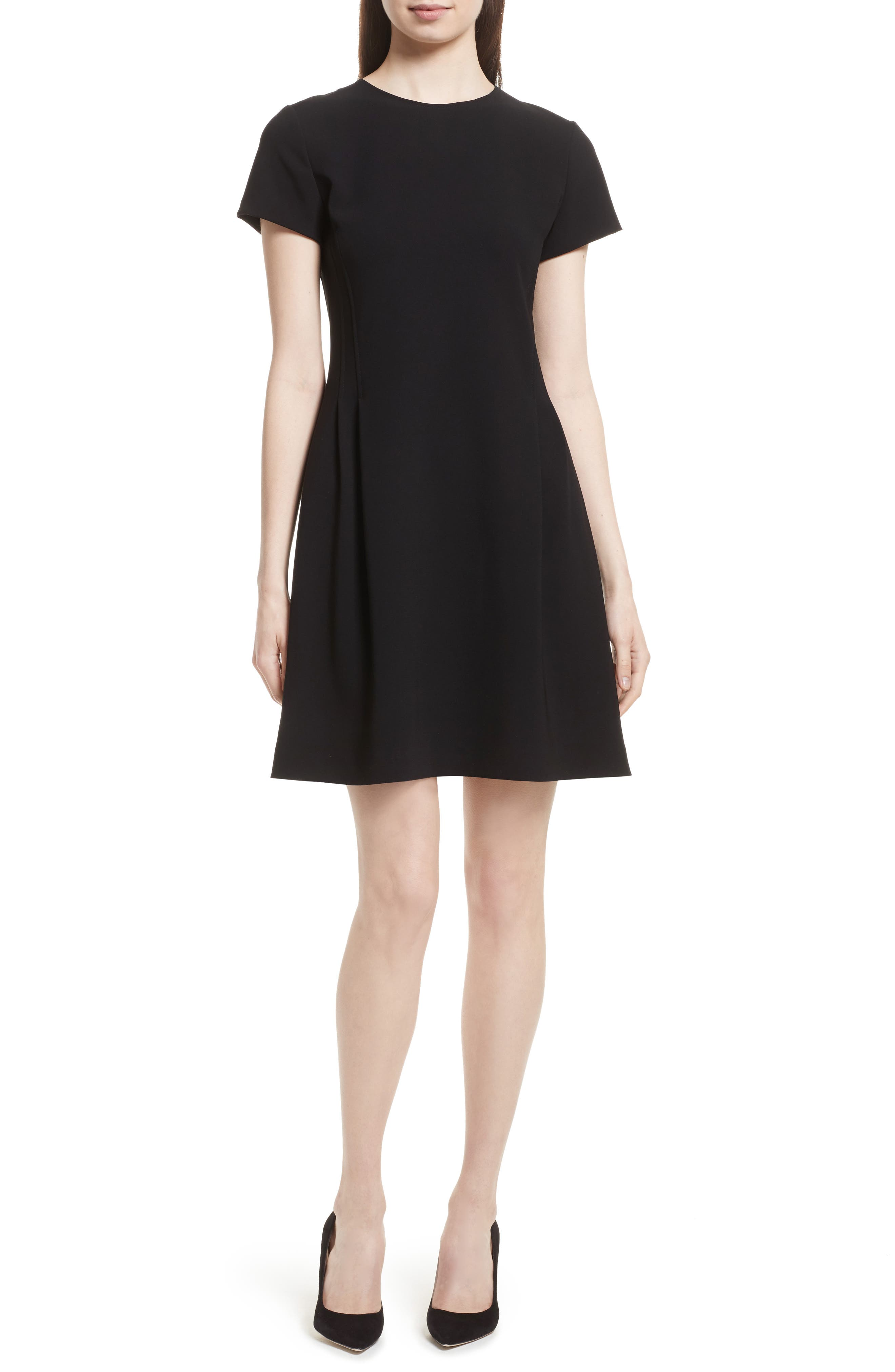 Theory Corset Admiral Crepe T-Shirt Dress