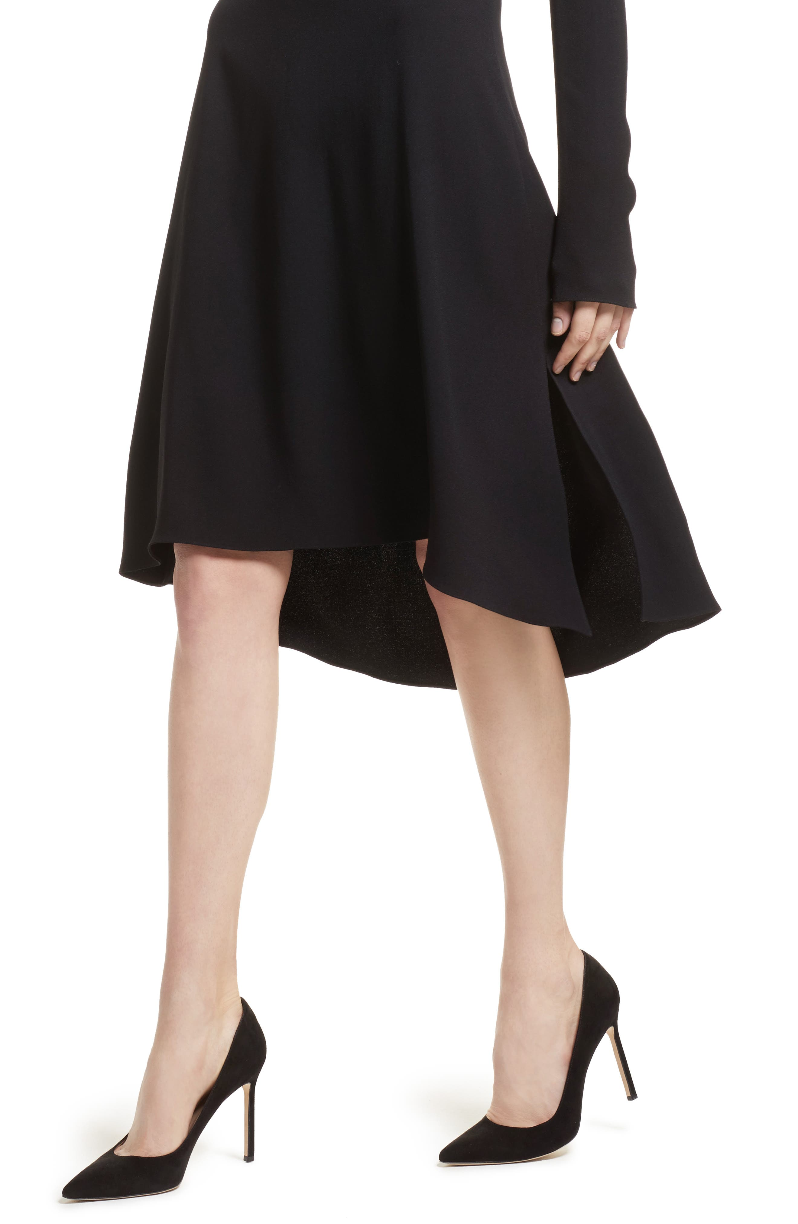 Alternate Image 4  - Theory Kensington Off the Shoulder Foldover Dress