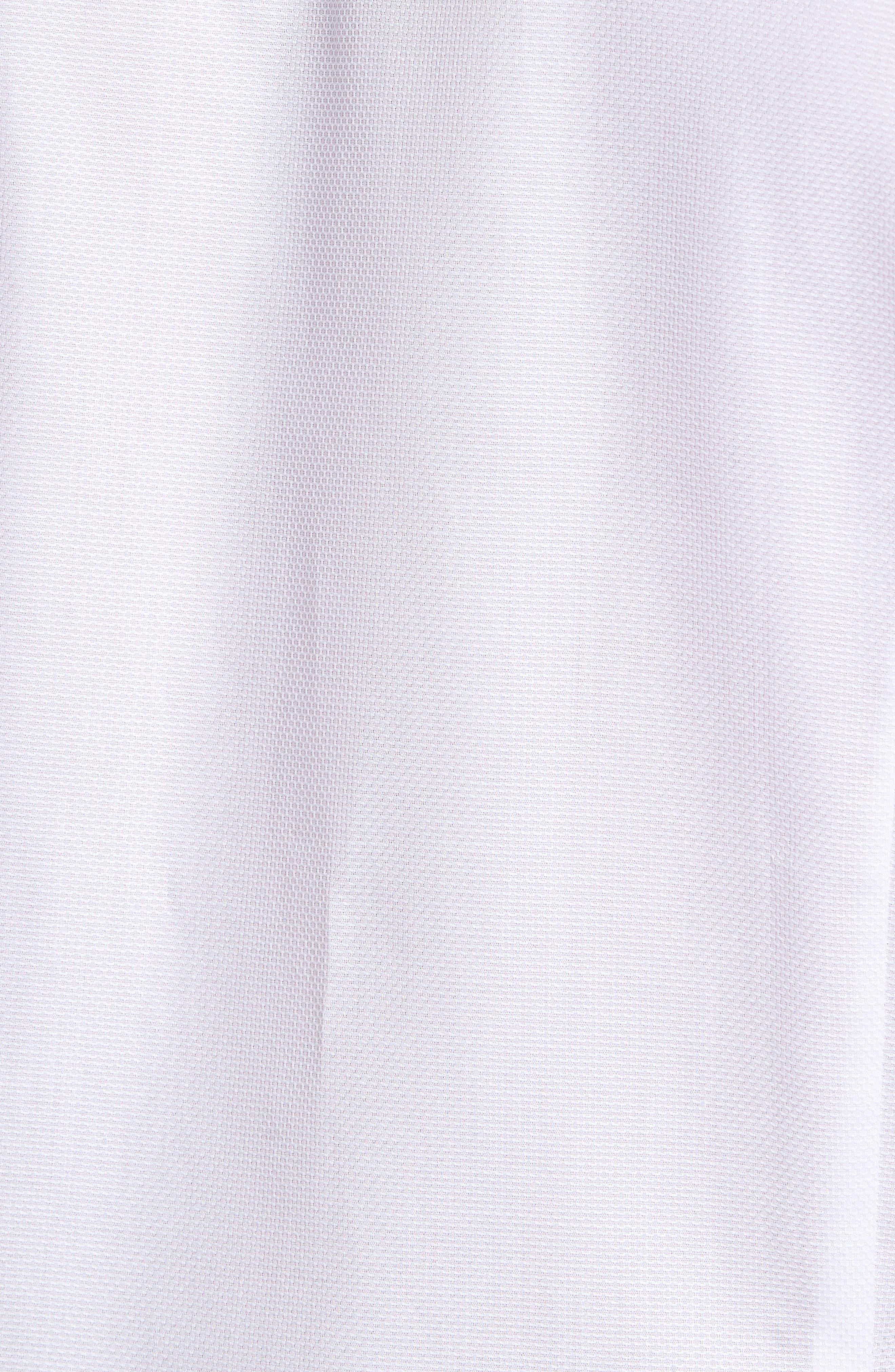 Alternate Image 6  - Ted Baker London Nordlux Modern Slim Fit Stretch Cotton Sport Shirt