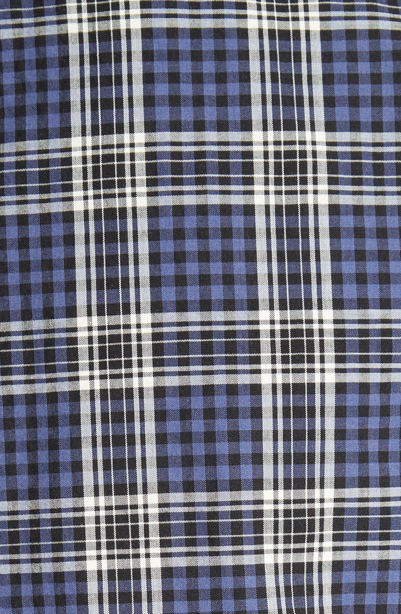 Alternate Image 5  - Todd Snyder Trim Fit Plaid Sport Shirt