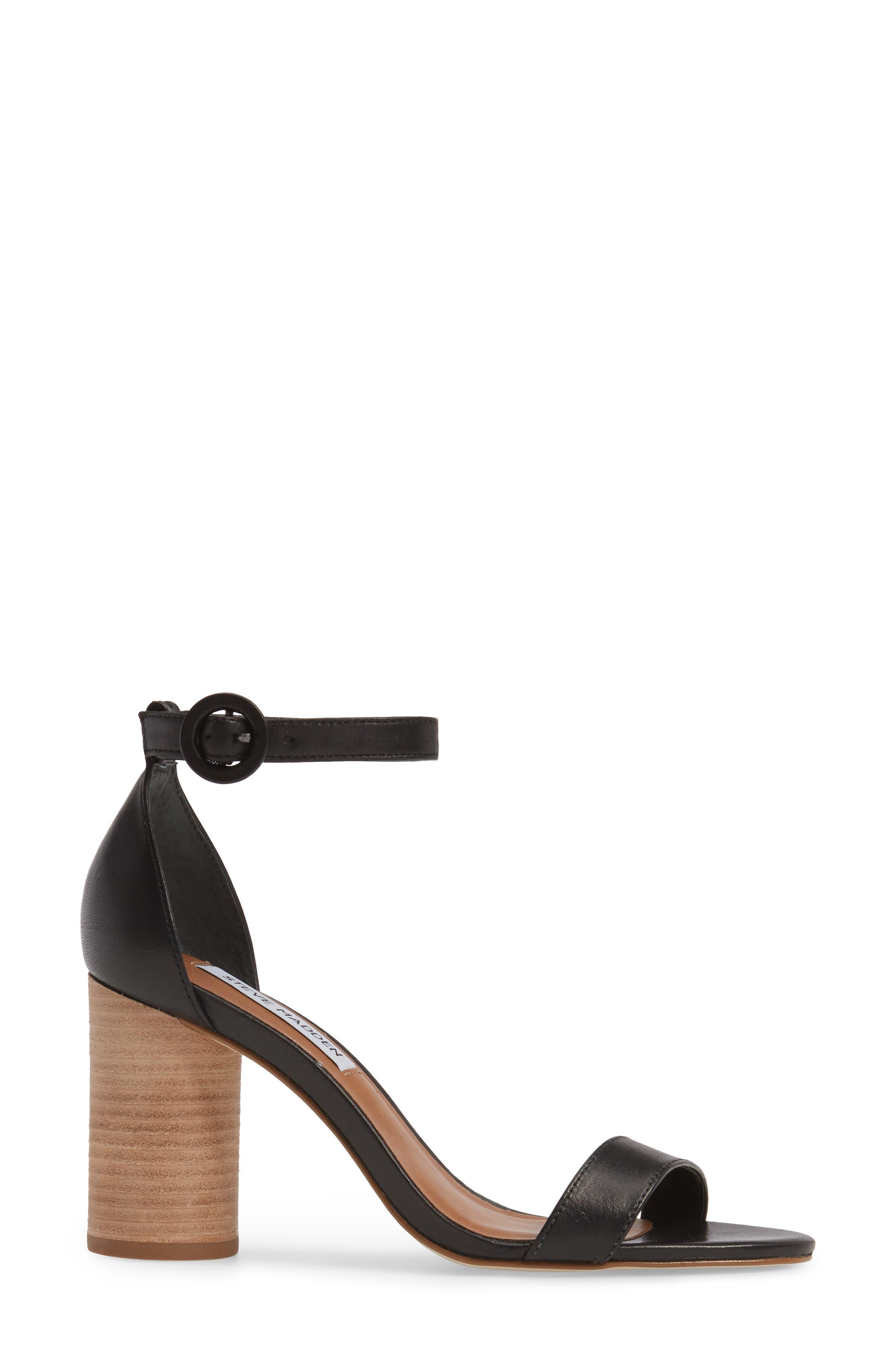 Alternate Image 3  - Steve Madden Sara Column Heel Sandal (Women)