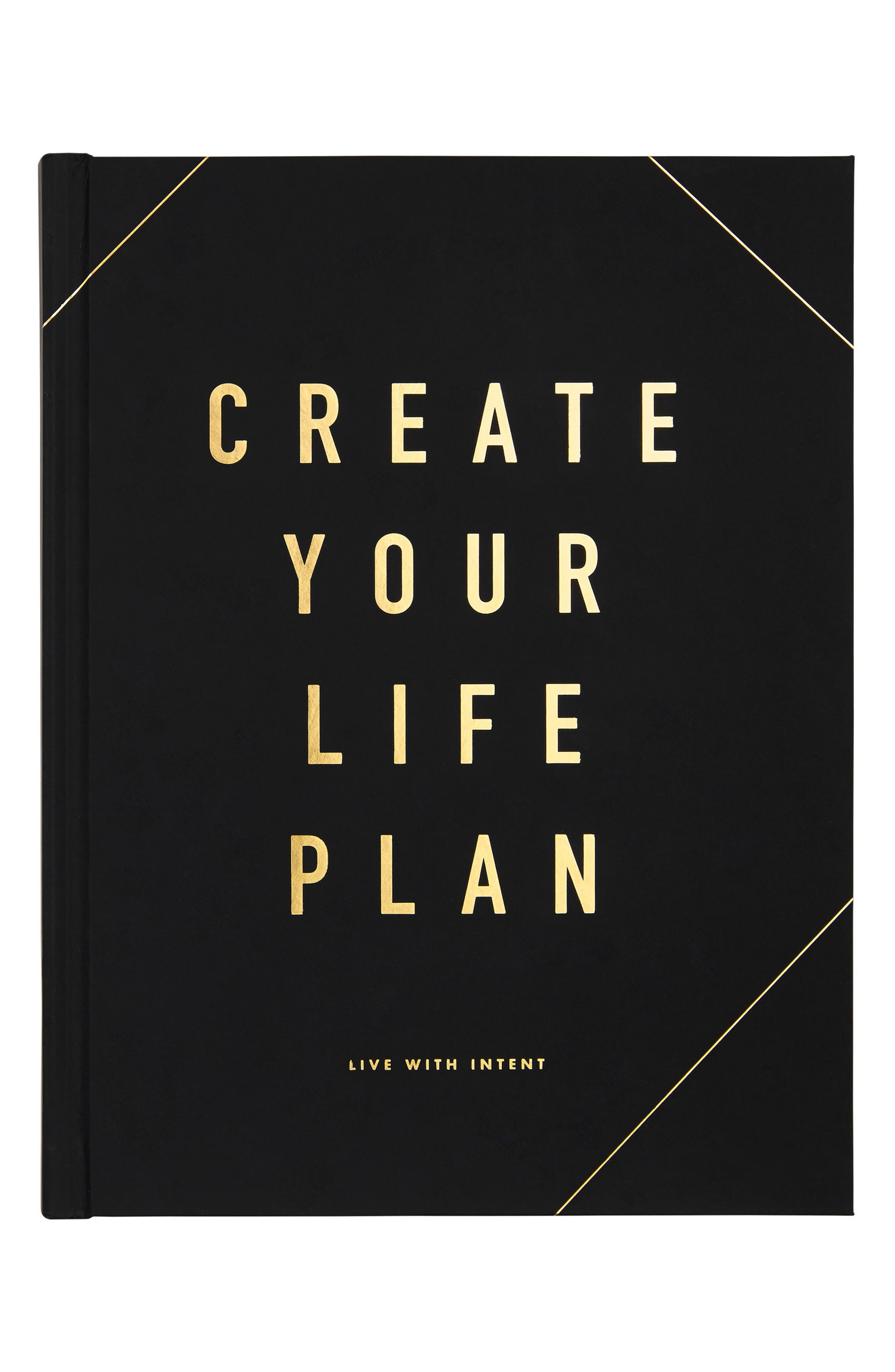 Main Image - kikki.K Create Your Life Plan: Life Essentials Book