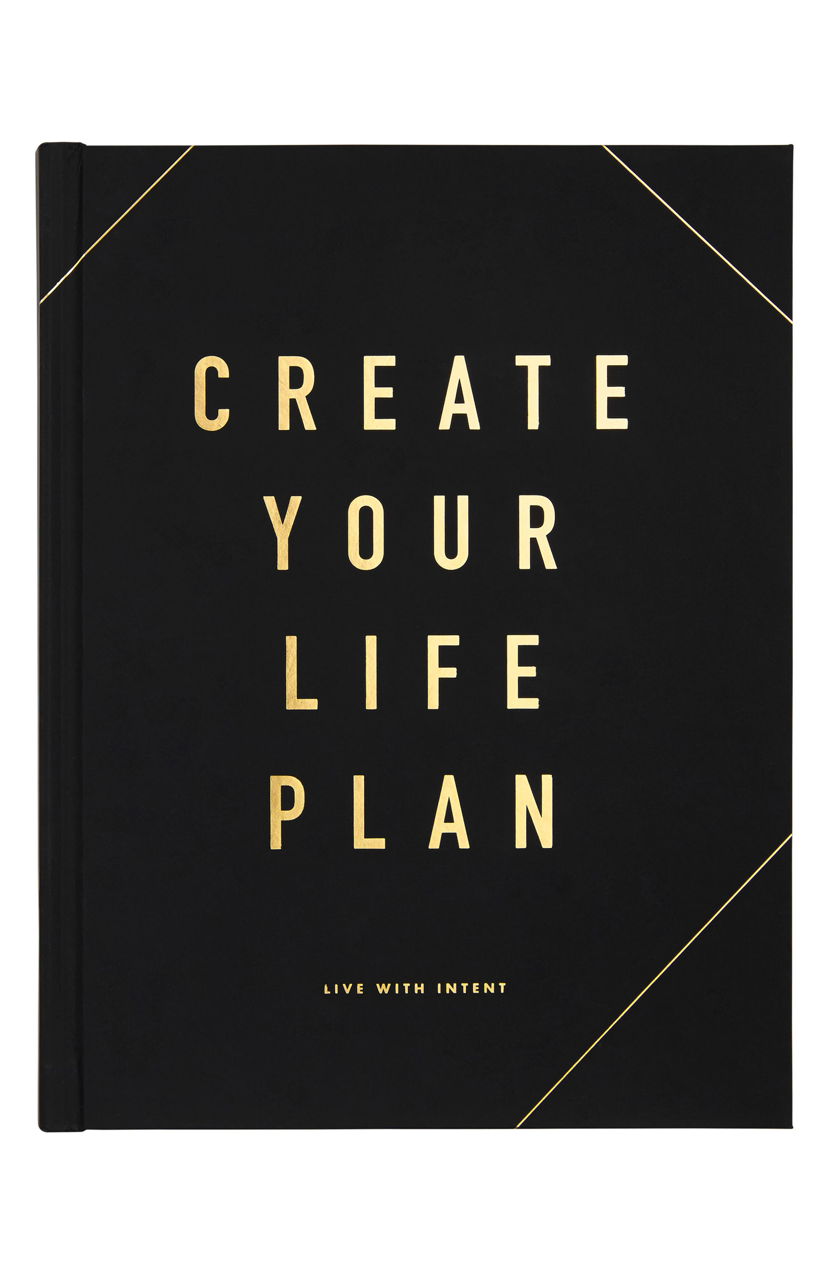 Create Your Life Plan: Life Essentials Book,                         Main,                         color, Black/ Gold