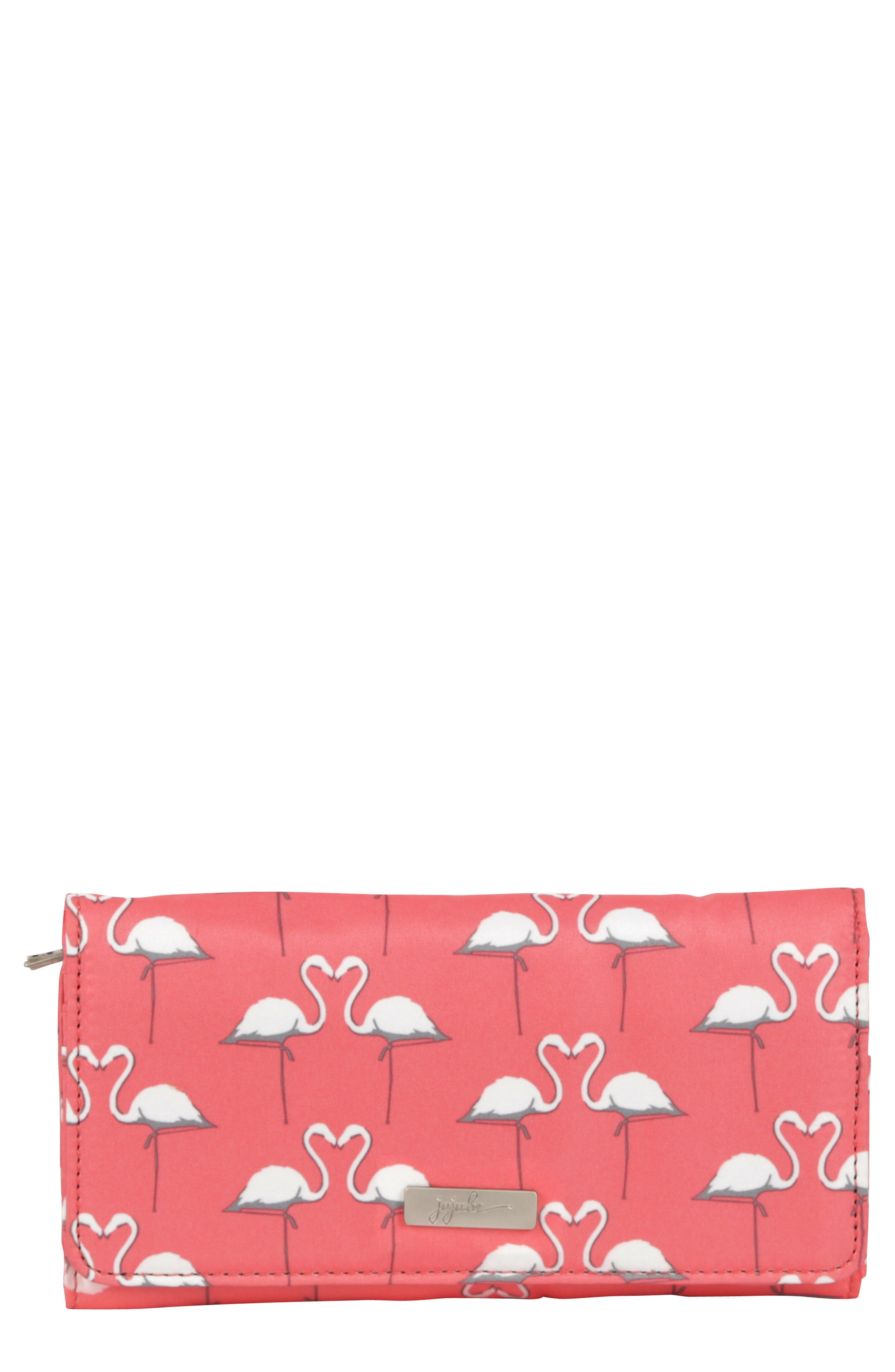 Be Rich - Coastal Collection Trifold Clutch Wallet,                             Main thumbnail 1, color,                             Key West