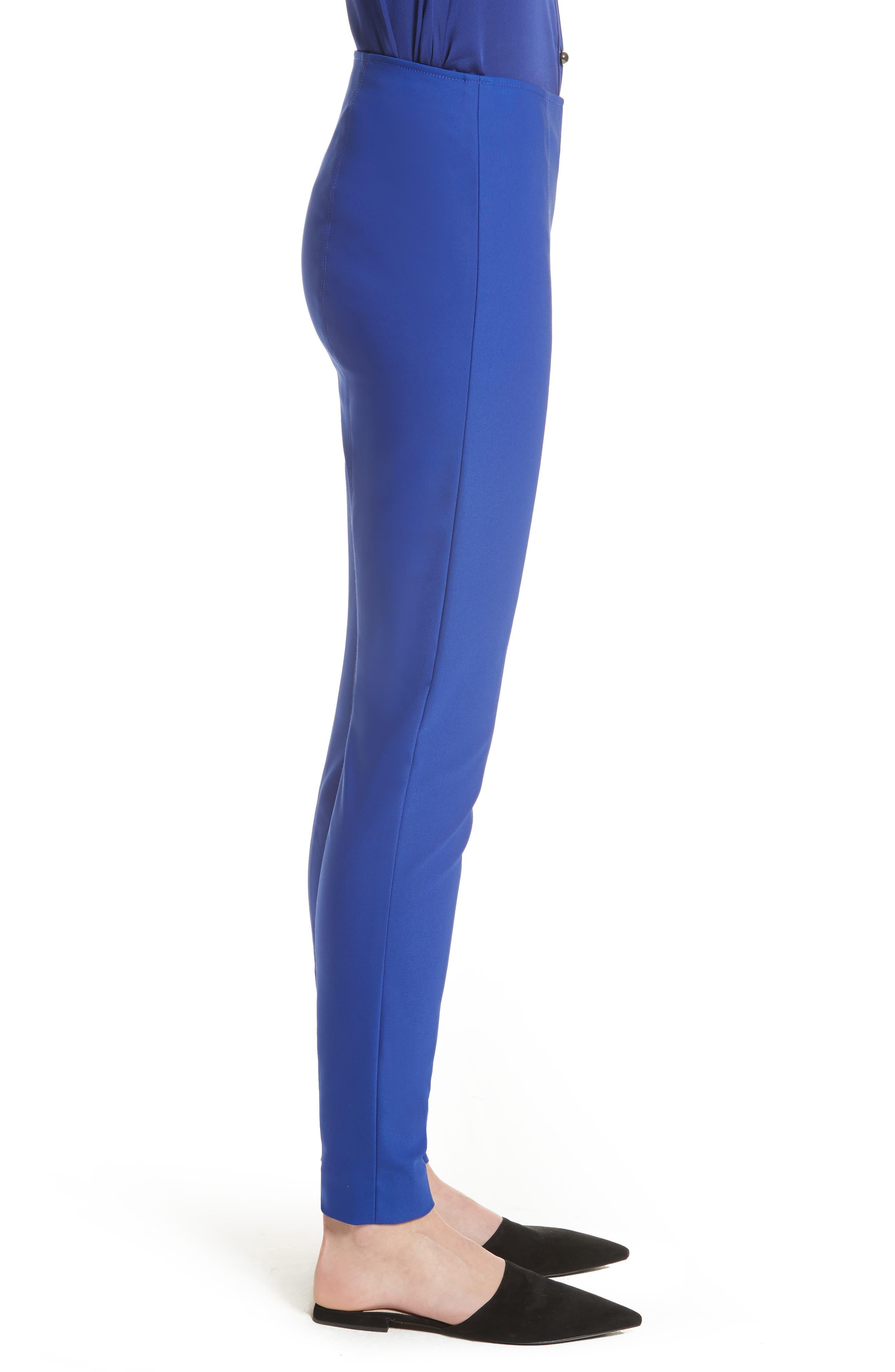 Alternate Image 3  - St. John Collection Scuba Bi-Stretch Crop Leggings
