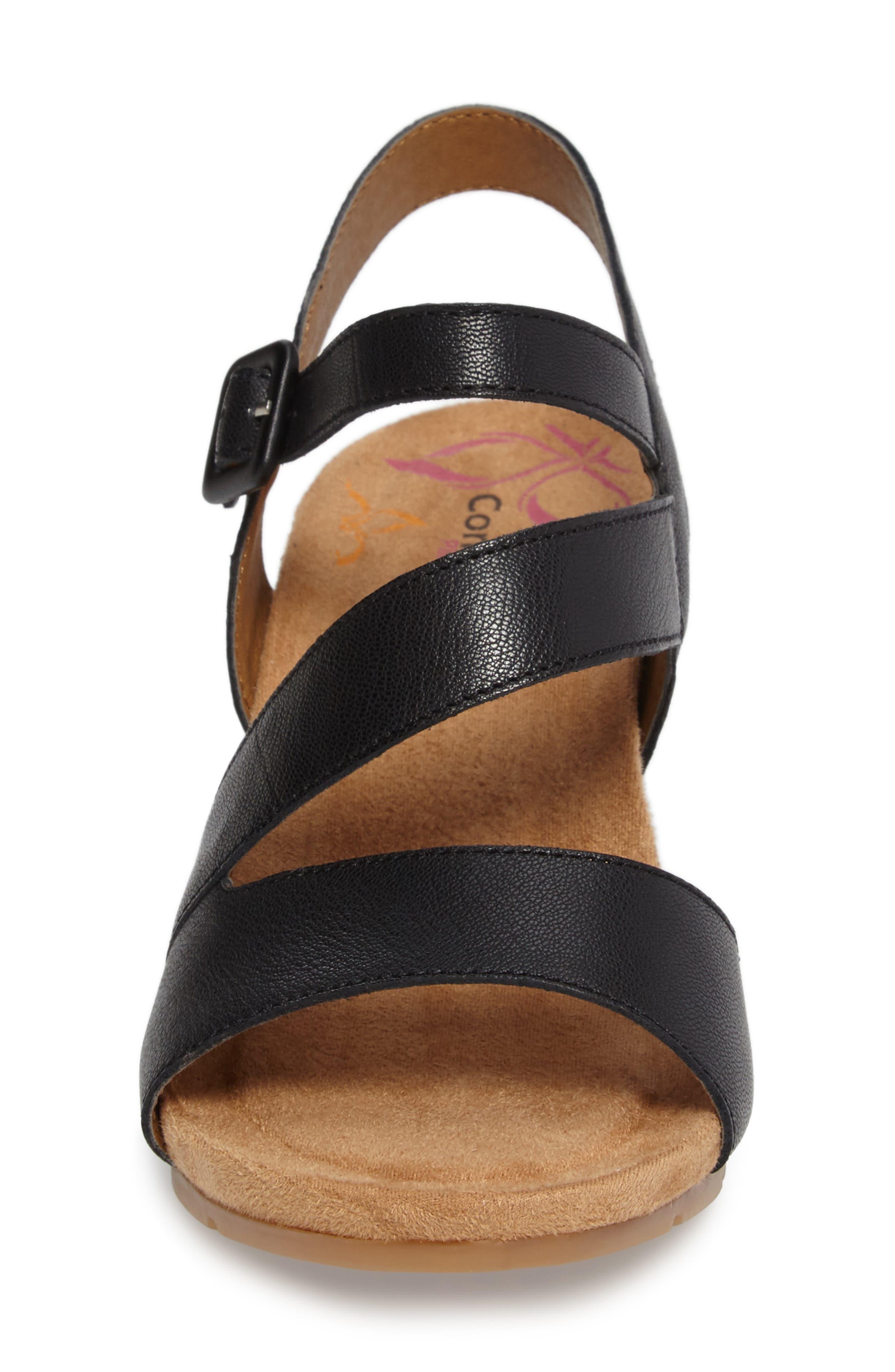 Alternate Image 4  - Comfortiva Violet Wedge Sandal (Women)