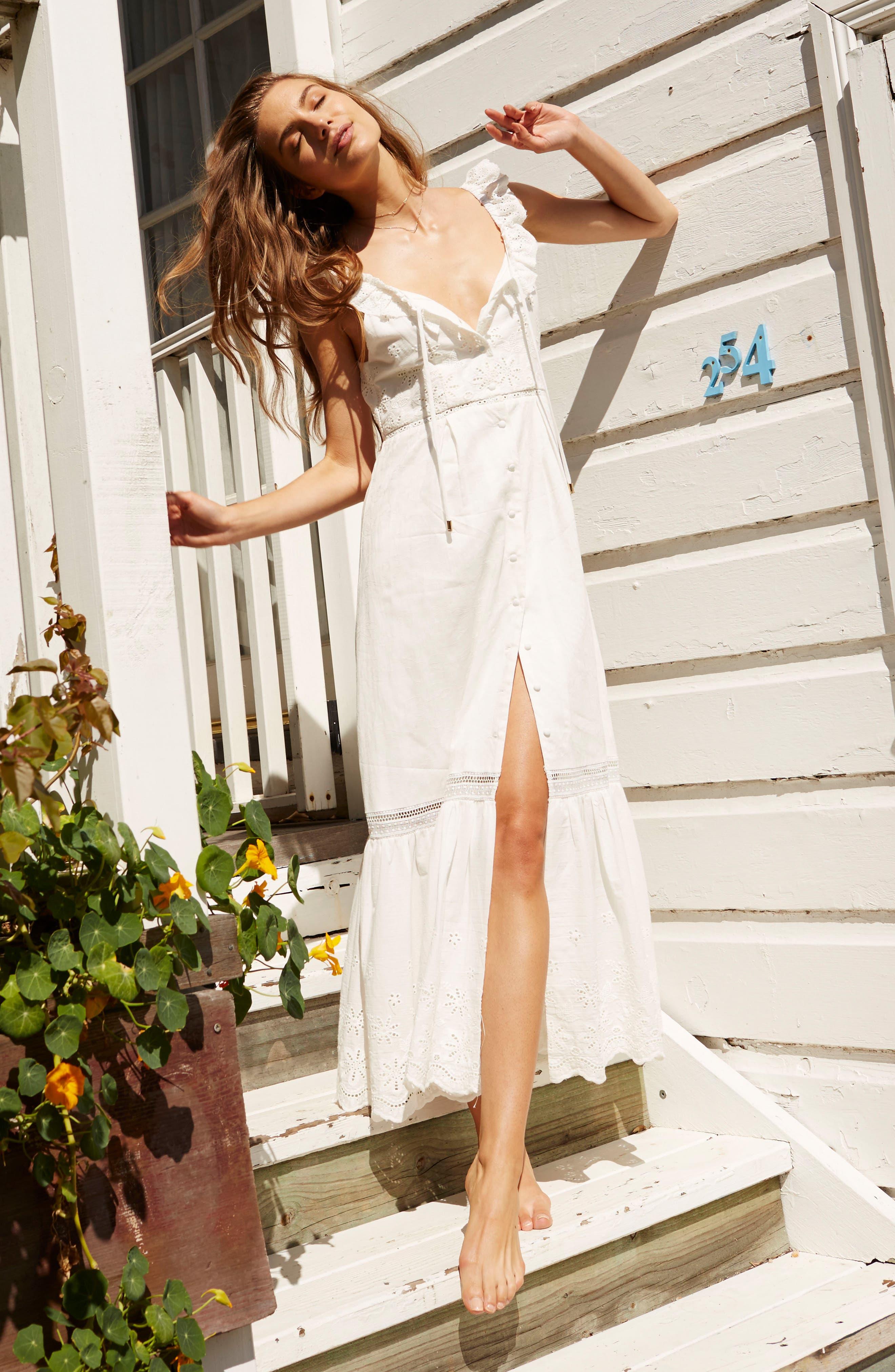 Alternate Image 2  - Somedays Lovin Sky Might Fall Midi Dress