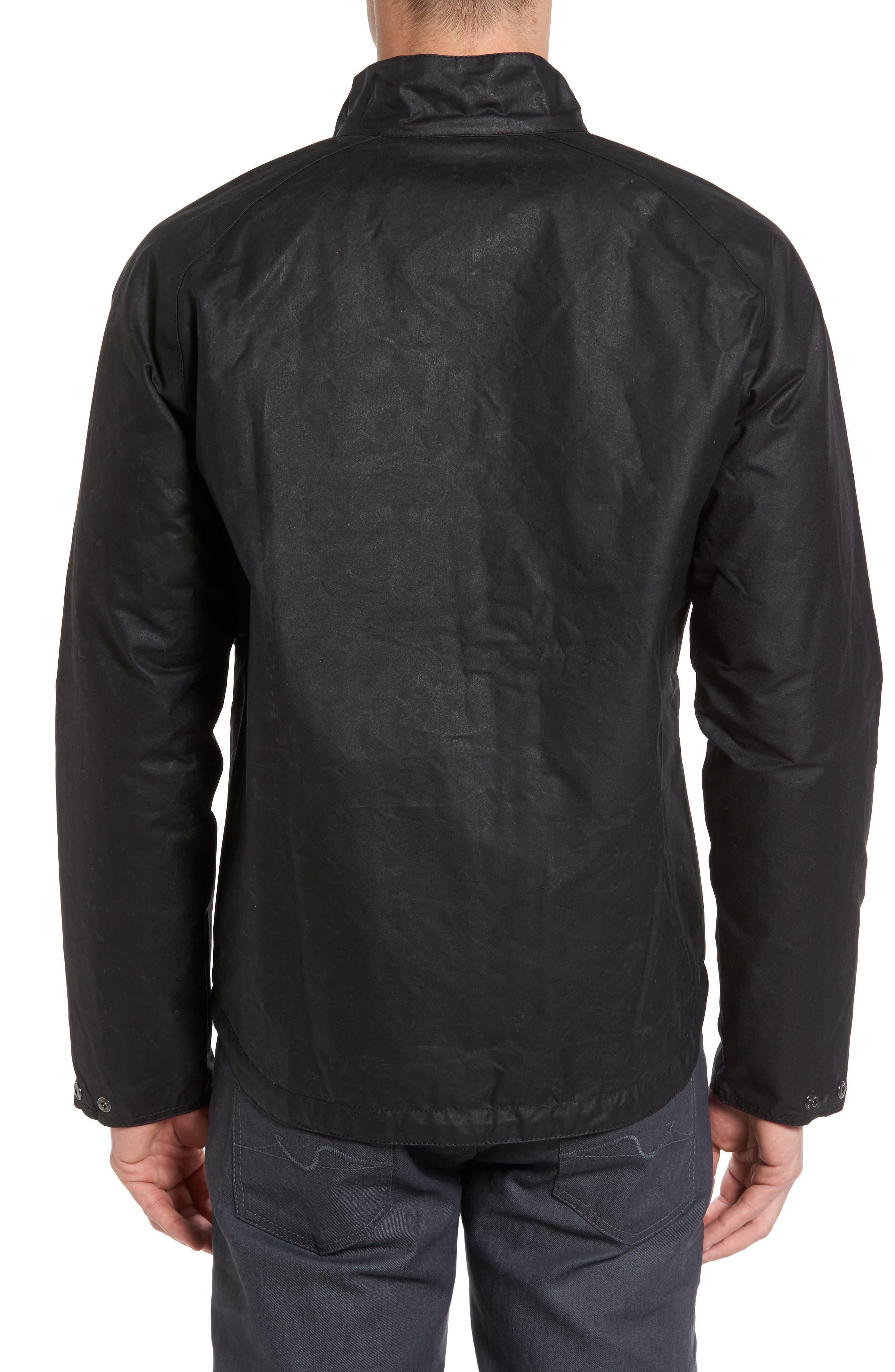 Chrome Slim Fit Water Repellent Jacket,                             Alternate thumbnail 2, color,                             Black