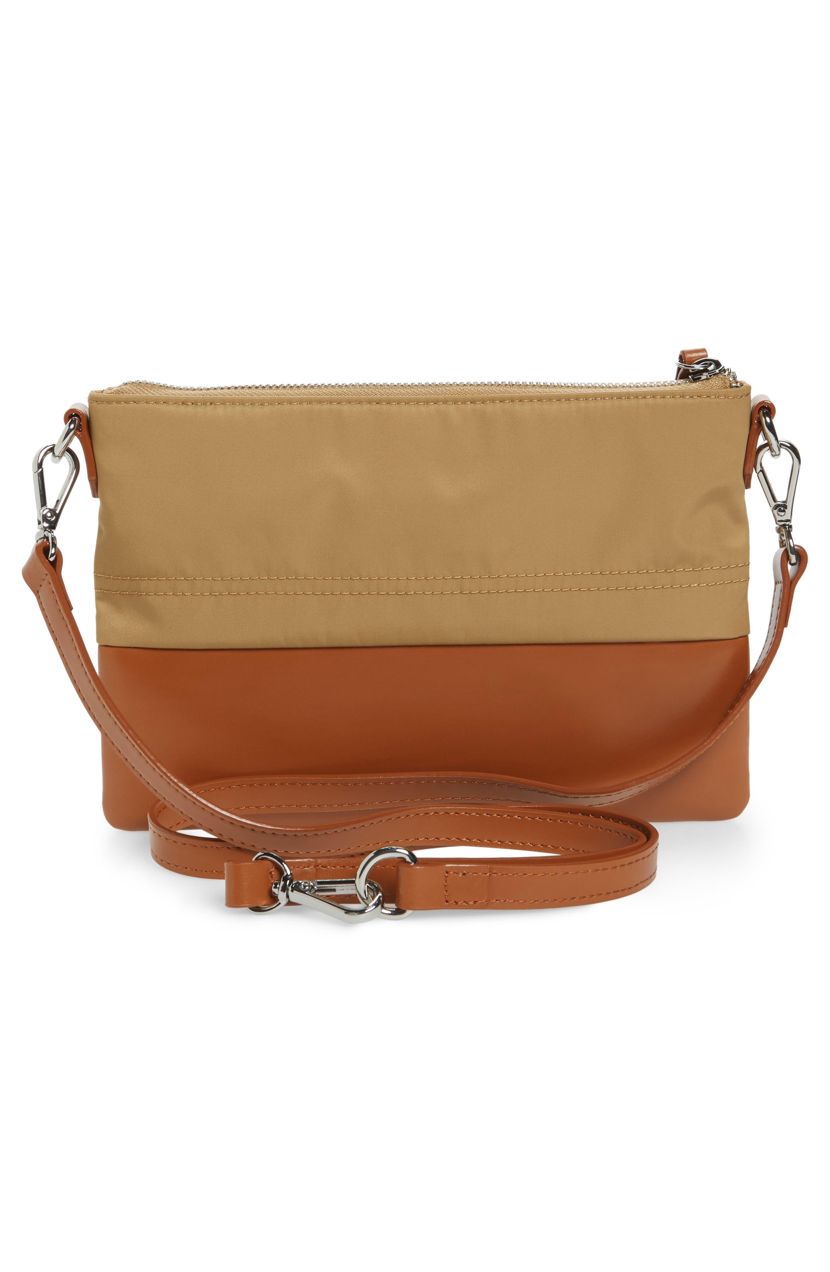 Alternate Image 2  - LODIS Los Angeles Kate Under Lock & Key Kala Leather Convertible Crossbody Bag